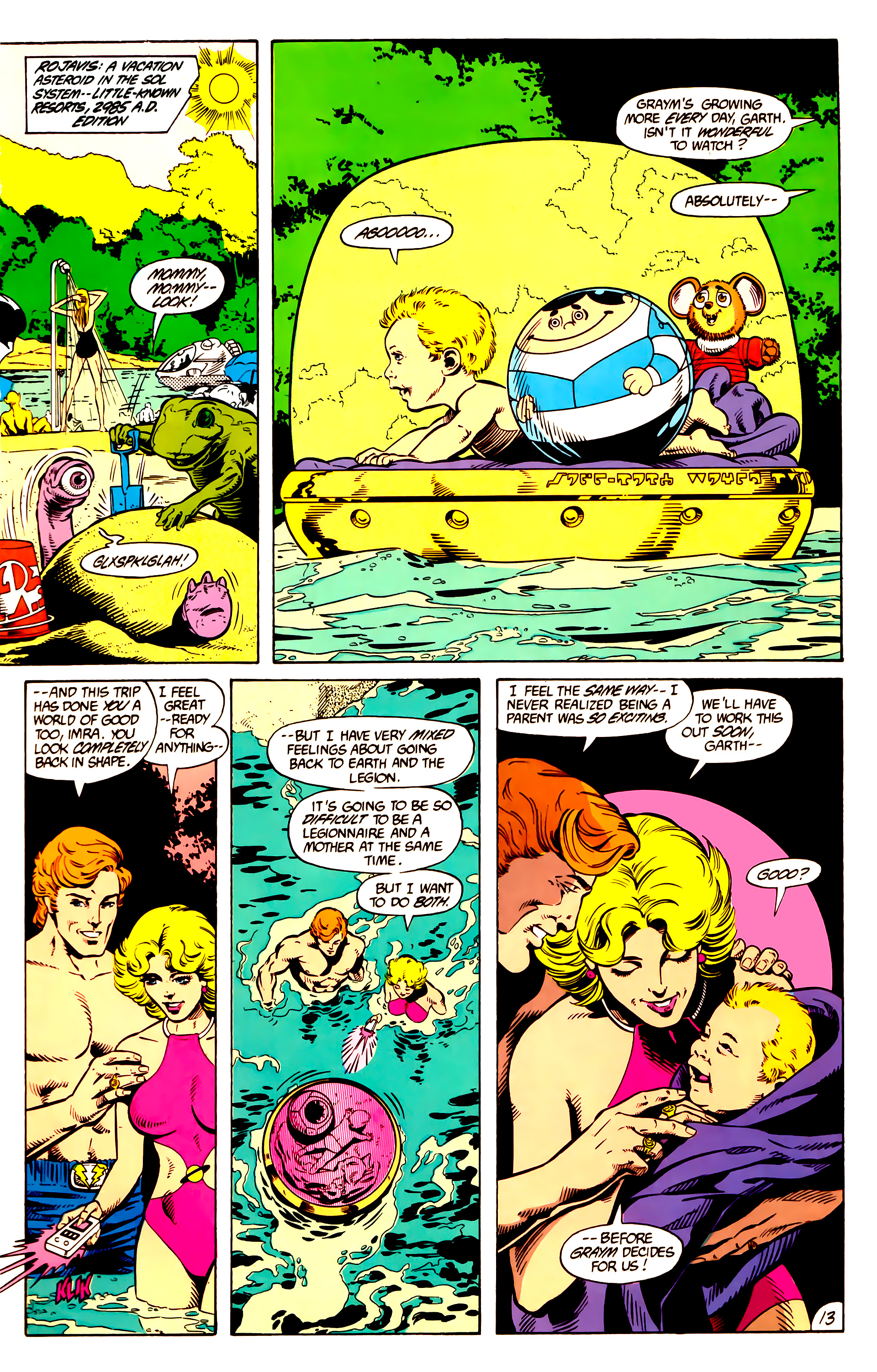 Legion of Super-Heroes (1984) 10 Page 14