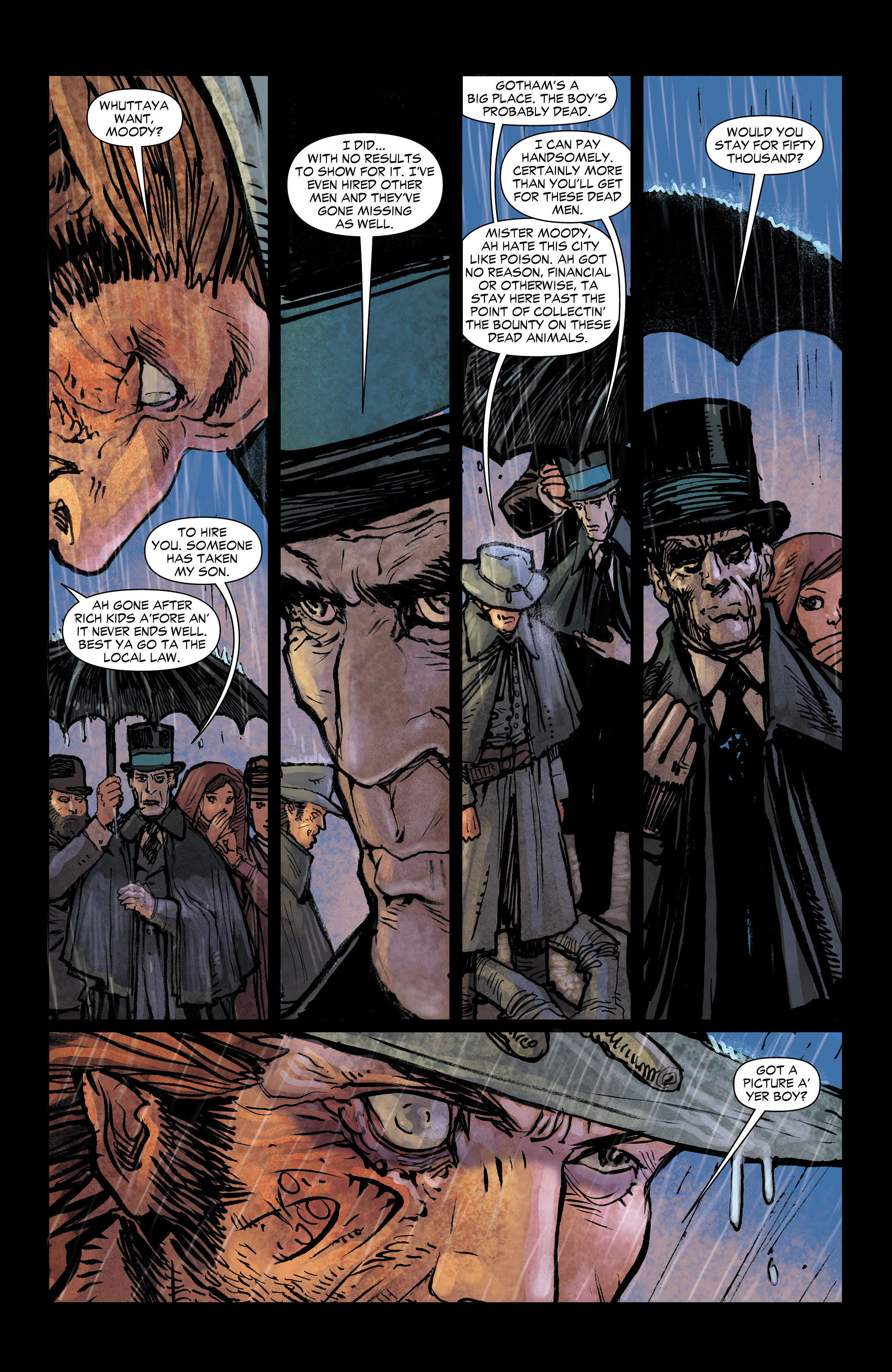 Read online All-Star Western (2011) comic -  Issue #4 - 9