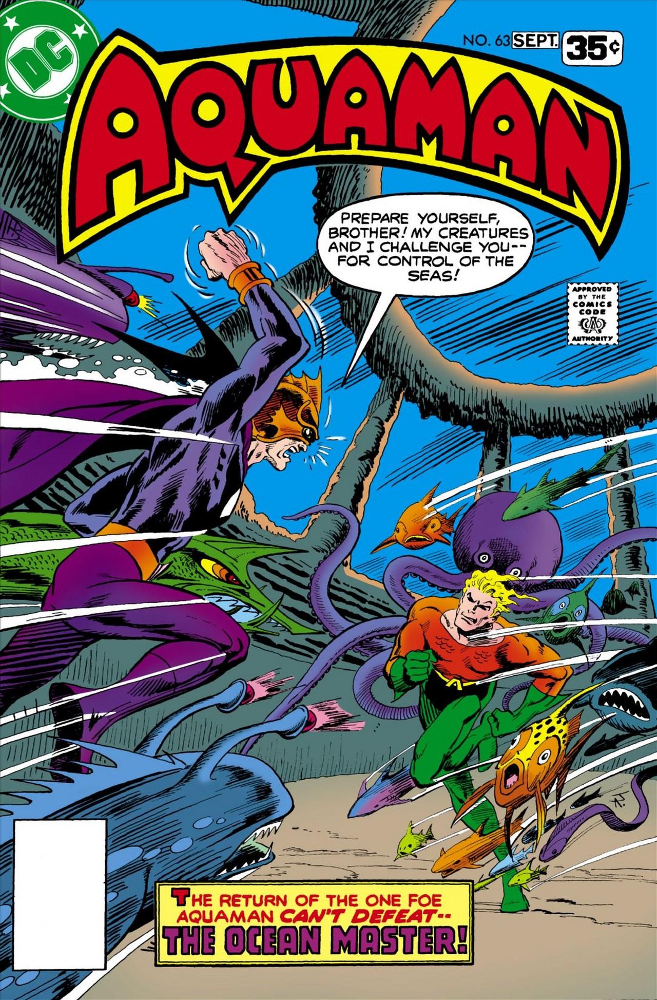 Read online Aquaman (1962) comic -  Issue #63 - 1