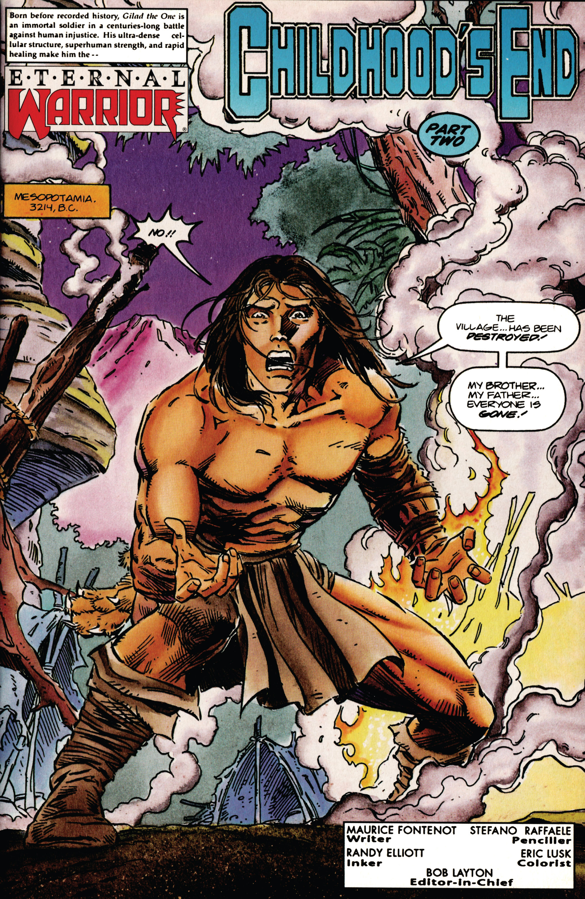 Read online Eternal Warrior (1992) comic -  Issue #38 - 2