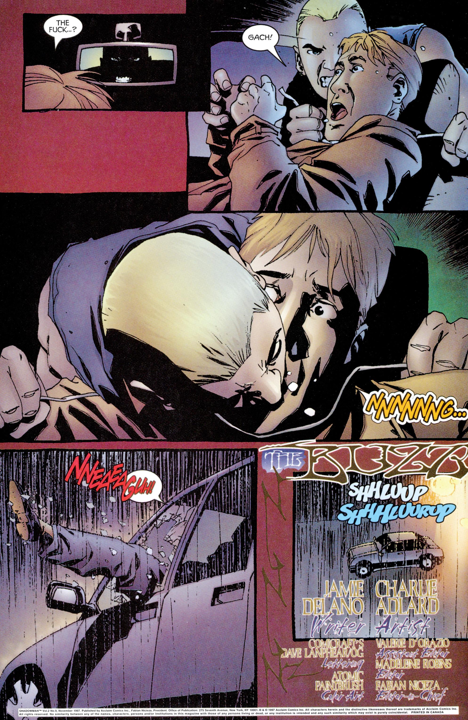 Read online Shadowman (1997) comic -  Issue #9 - 3