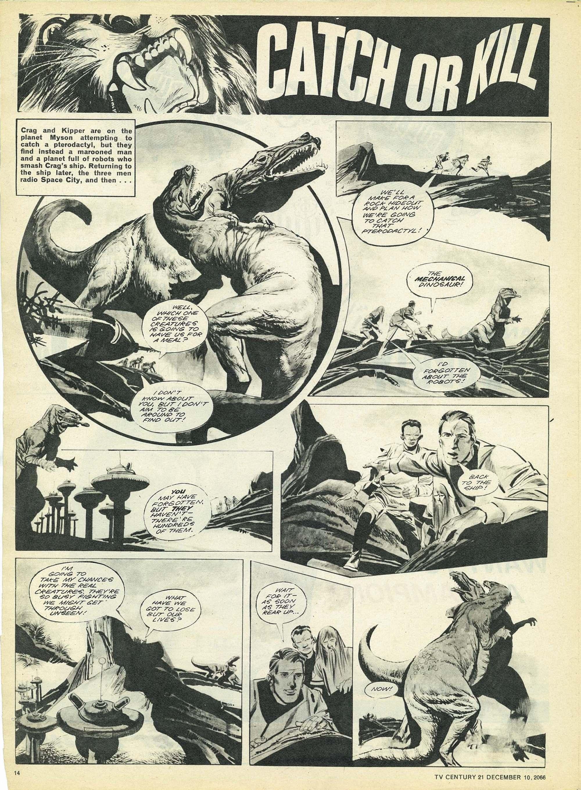 Read online TV Century 21 (TV 21) comic -  Issue #99 - 13