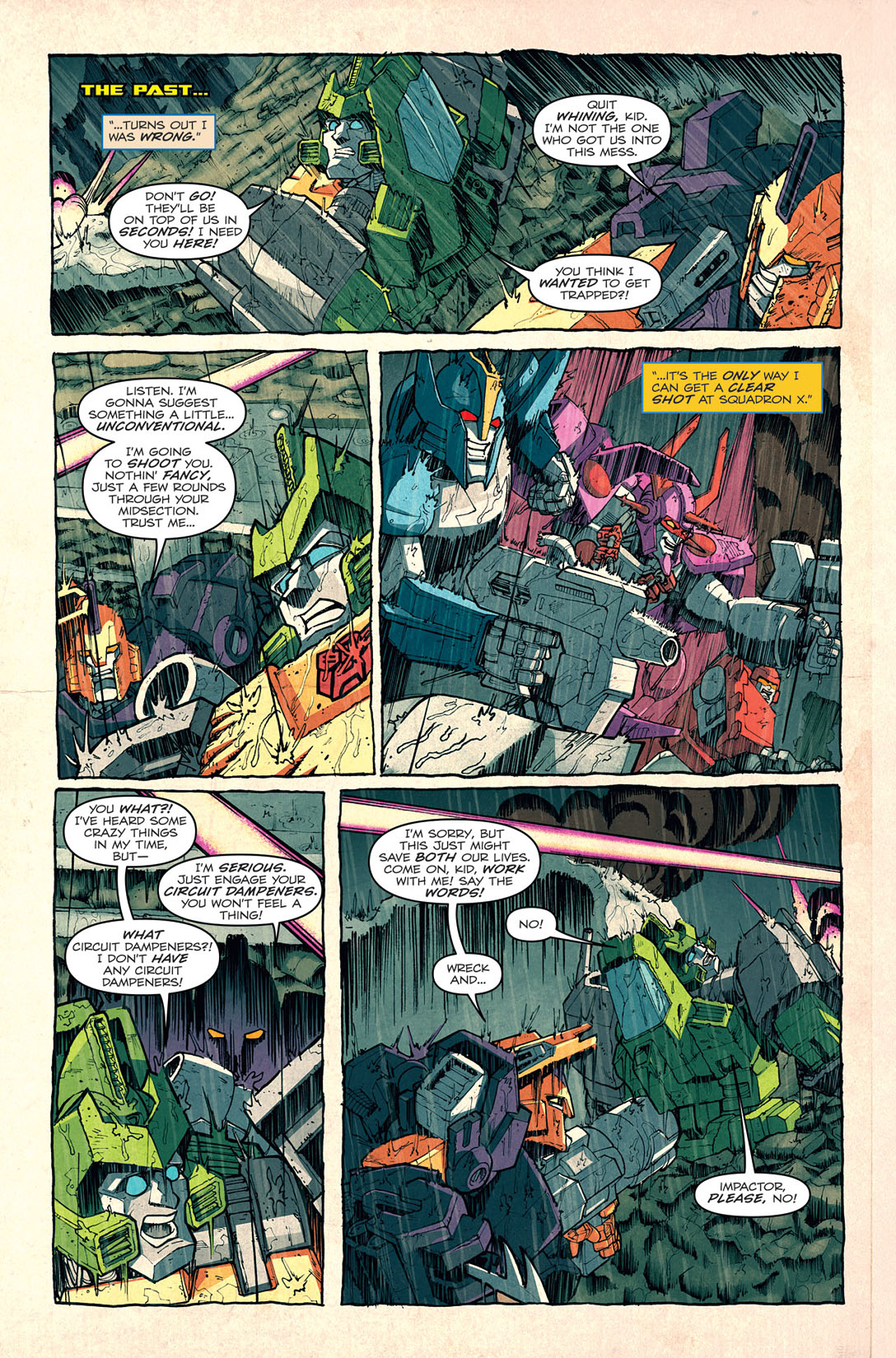Read online Transformers: Last Stand of The Wreckers comic -  Issue #5 - 9