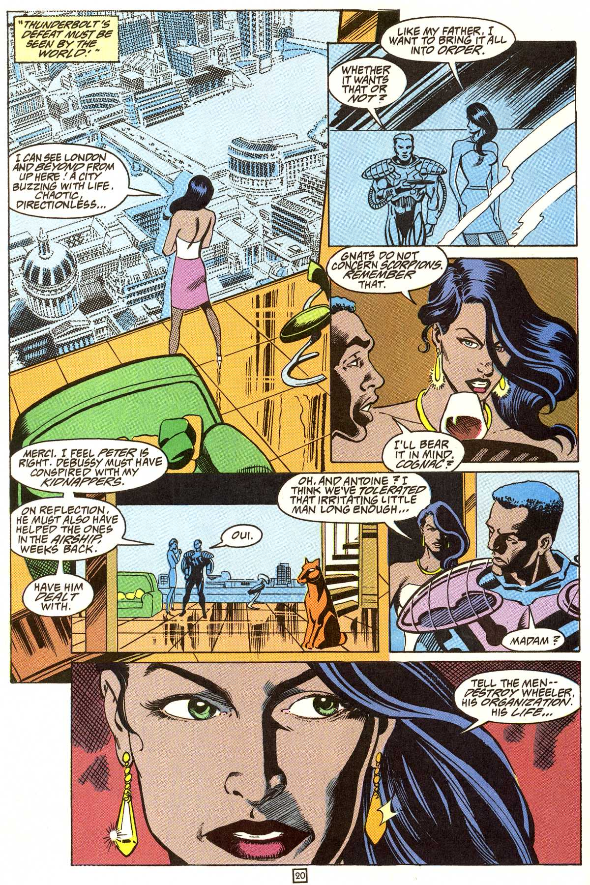 Read online Peter Cannon--Thunderbolt (1992) comic -  Issue #9 - 21