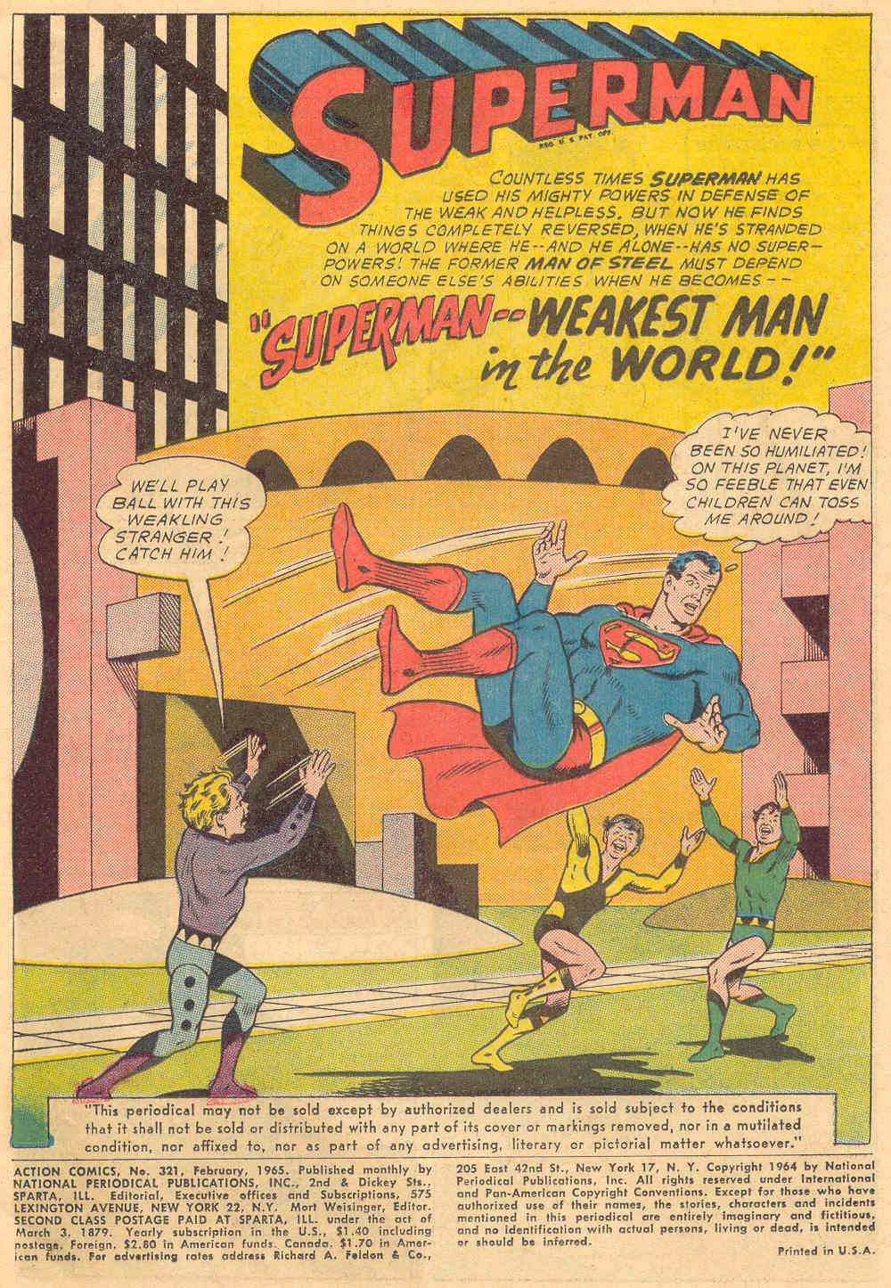 Read online Action Comics (1938) comic -  Issue #321 - 3