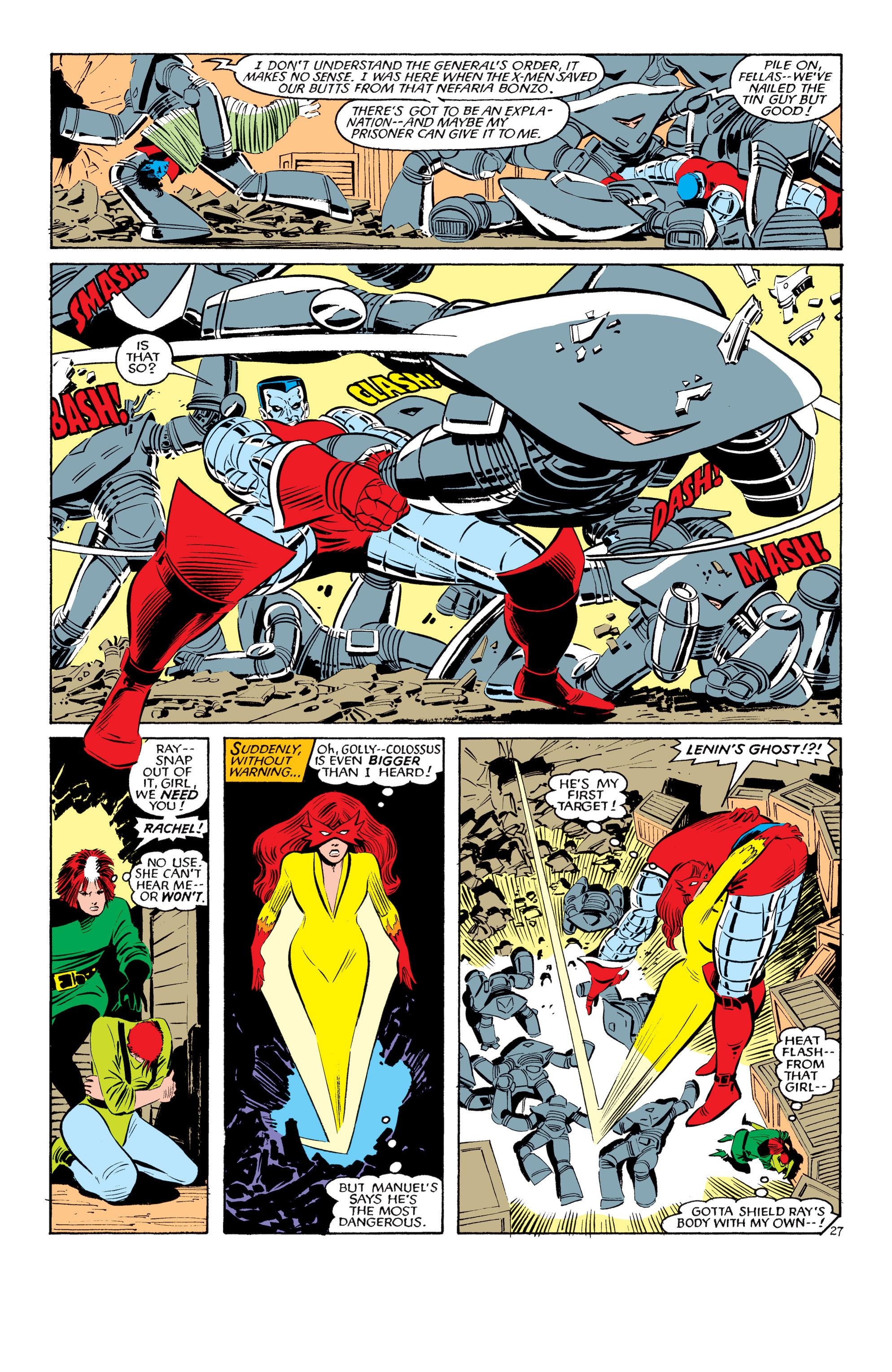 Read online Uncanny X-Men (1963) comic -  Issue #193 - 28