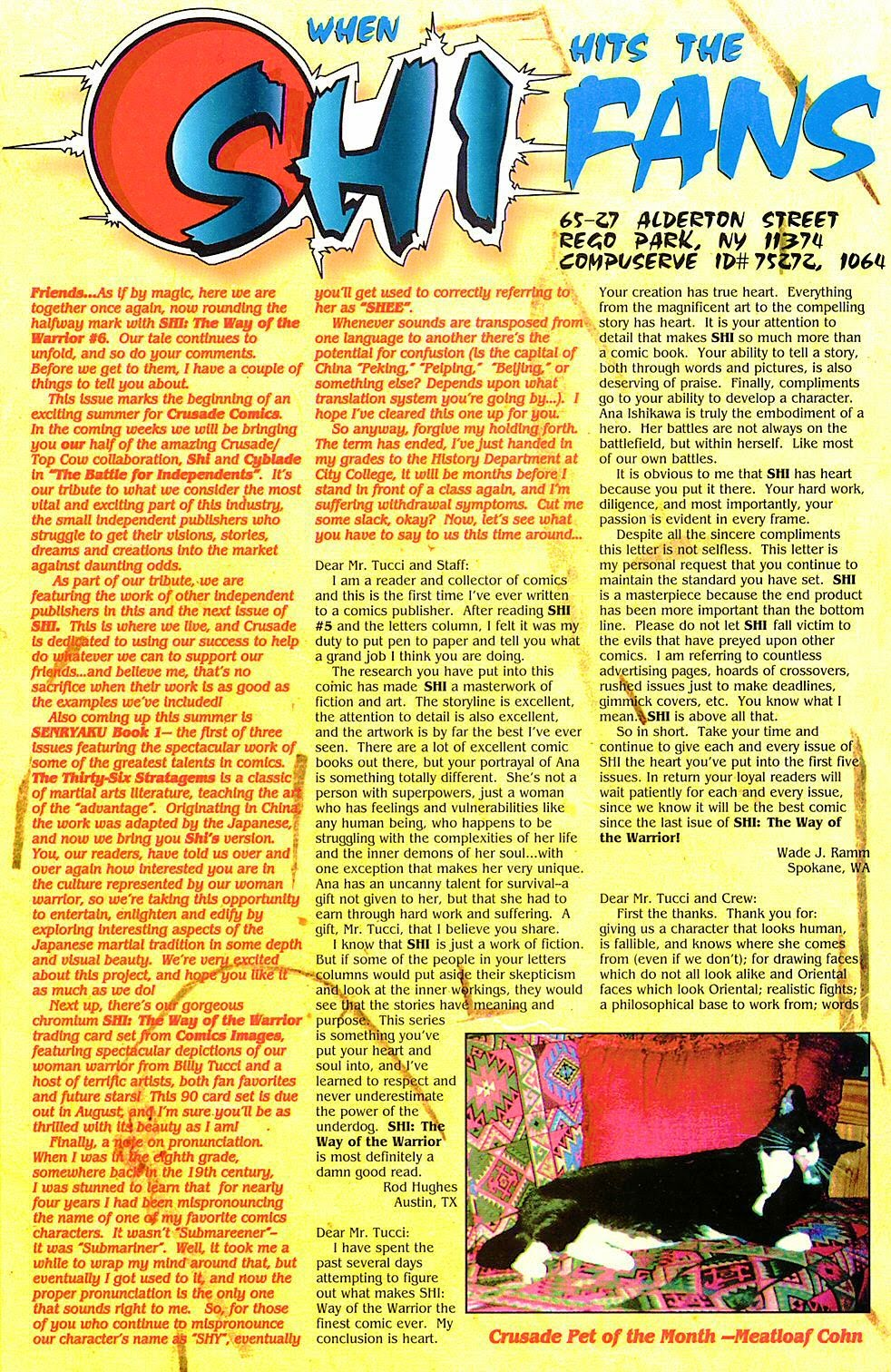 Read online Shi: The Way of the Warrior comic -  Issue #6 - 23