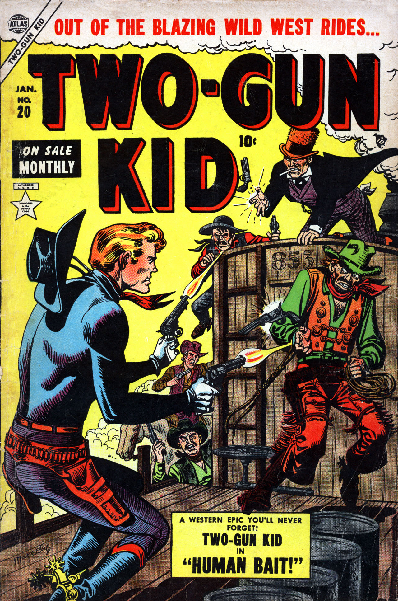 Read online Two-Gun Kid comic -  Issue #20 - 1