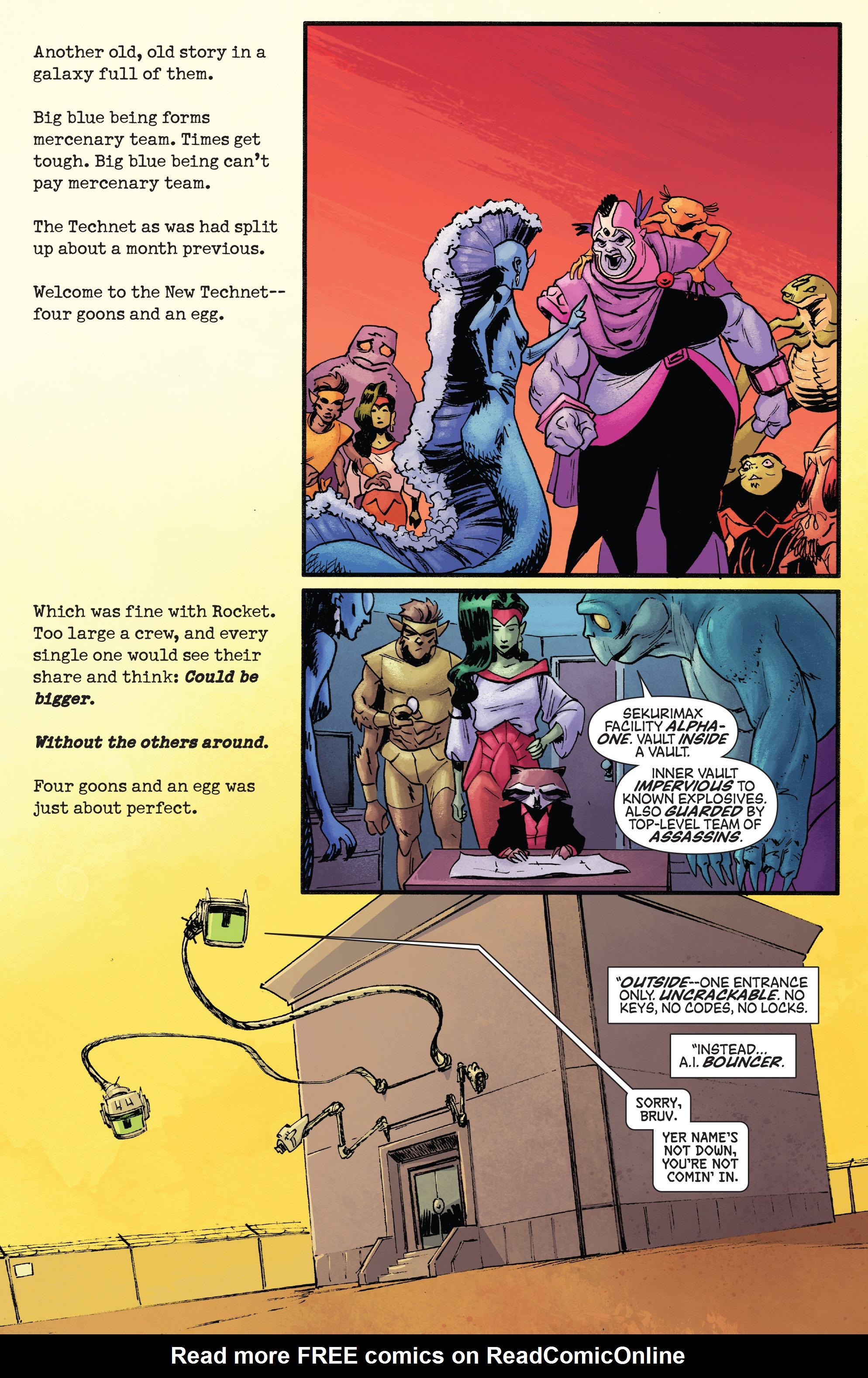 Read online Rocket comic -  Issue #1 - 14