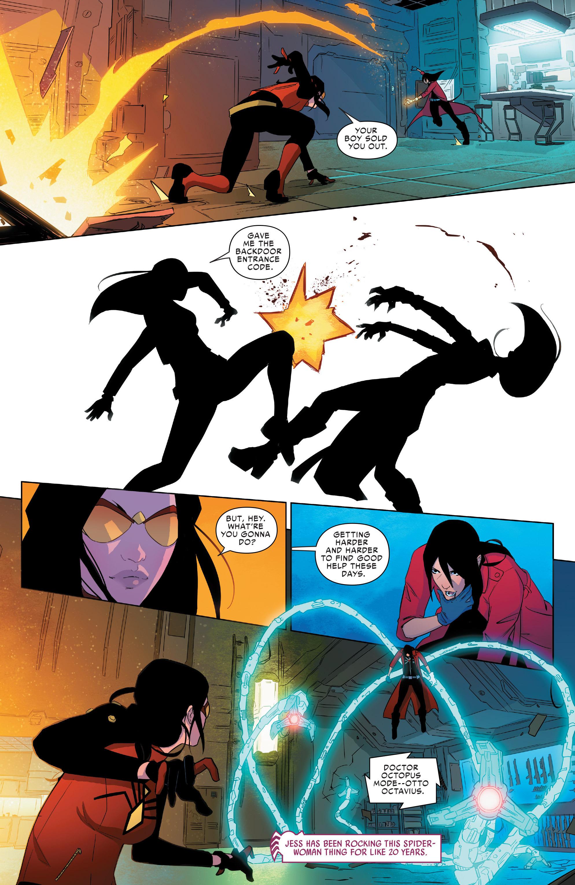 Read online Spider-Women Omega comic -  Issue # Full - 11
