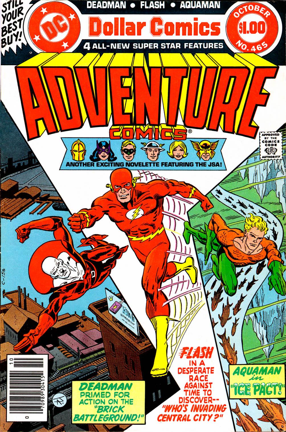 Read online Adventure Comics (1938) comic -  Issue #465 - 2