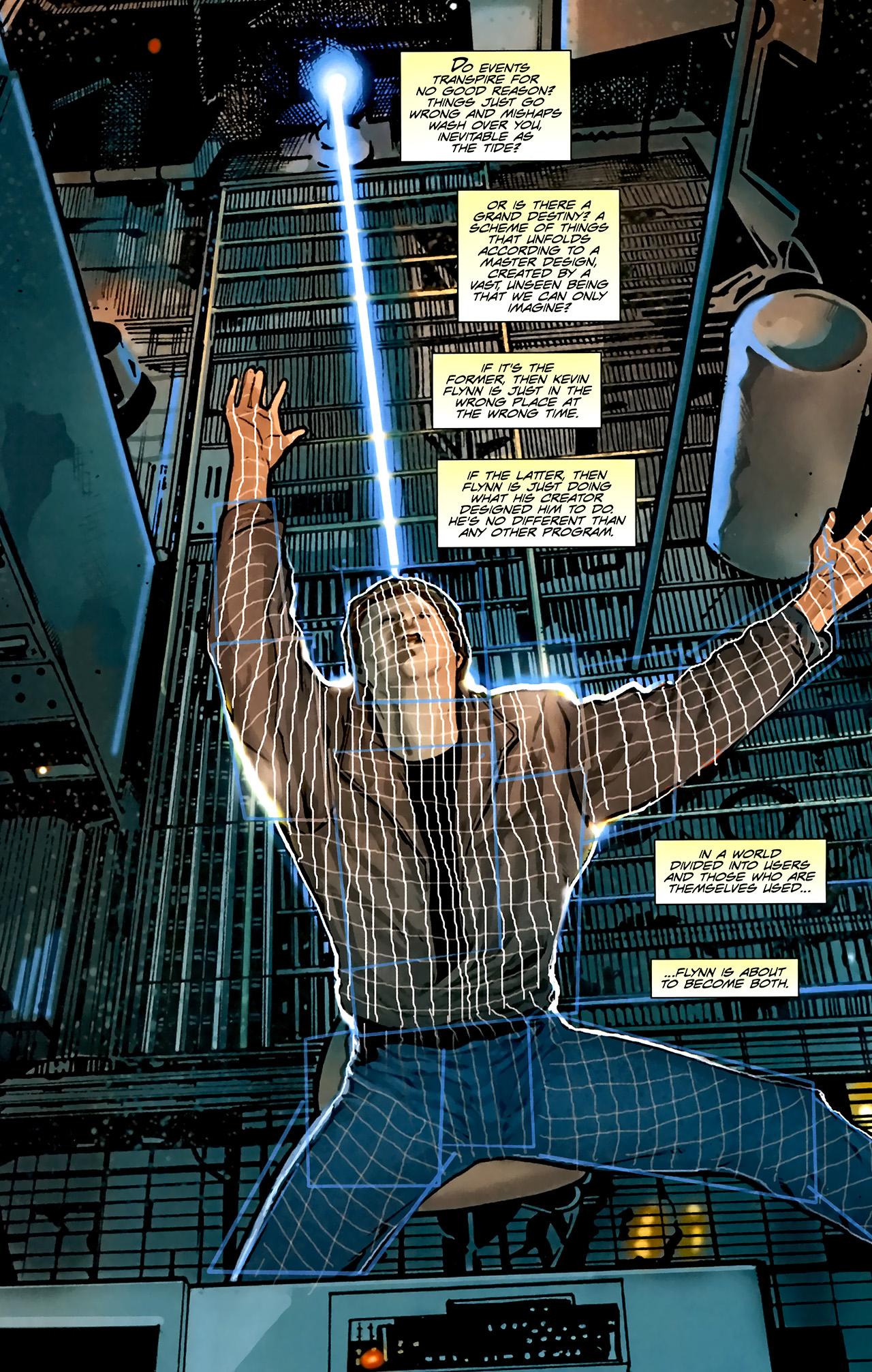 Read online TRON: Original Movie Adaptation comic -  Issue #1 - 5