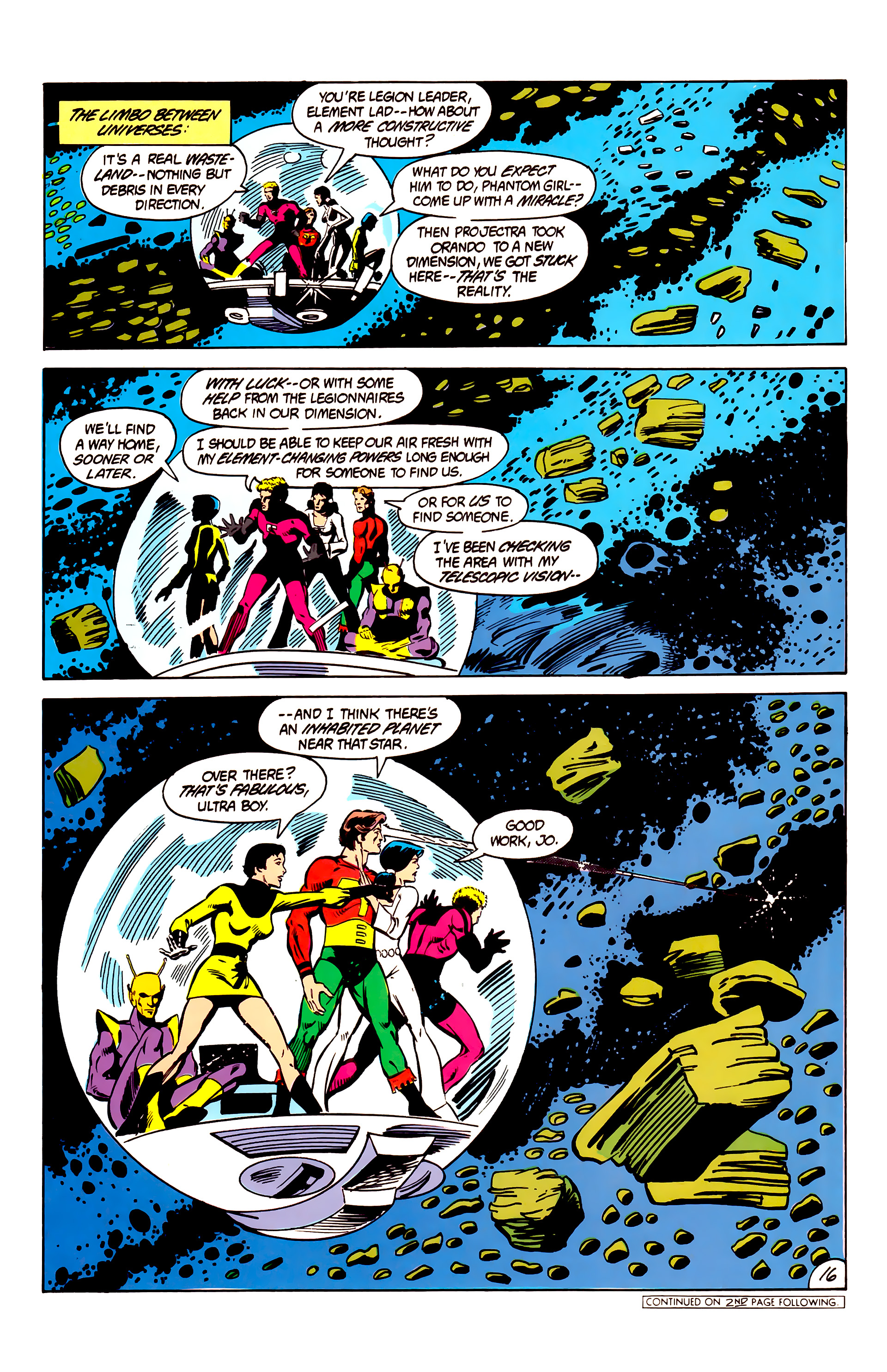 Legion of Super-Heroes (1984) 6 Page 16