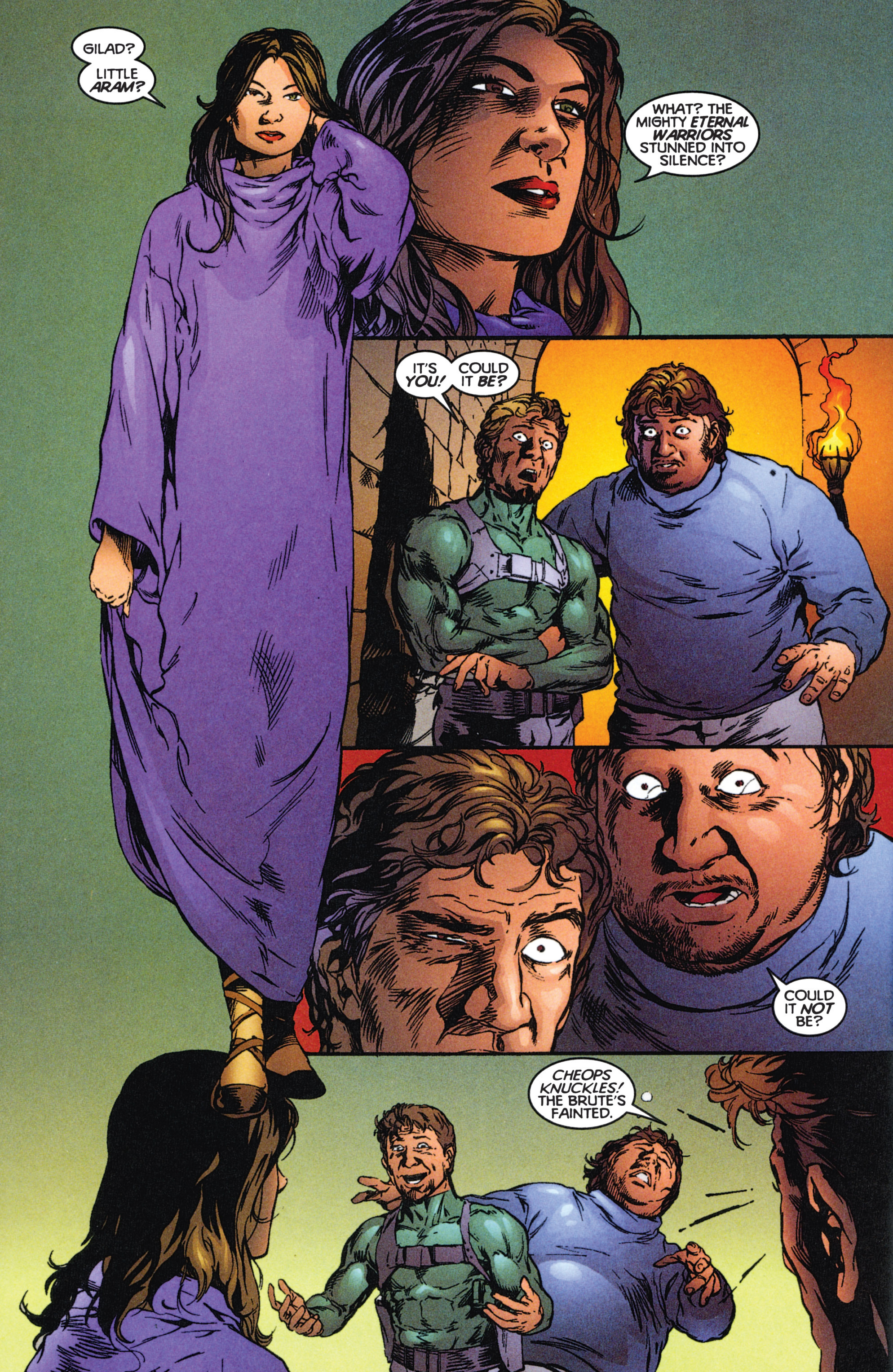 Read online Eternal Warriors comic -  Issue # Issue The Immortal Enemy - 18