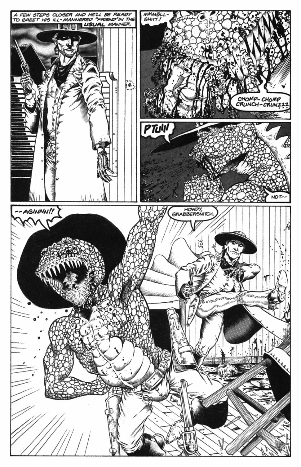 Read online Gunfighters in Hell comic -  Issue #2 - 8