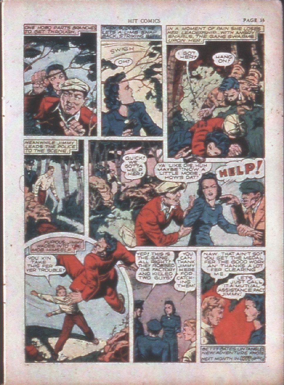 Read online Hit Comics comic -  Issue #15 - 17