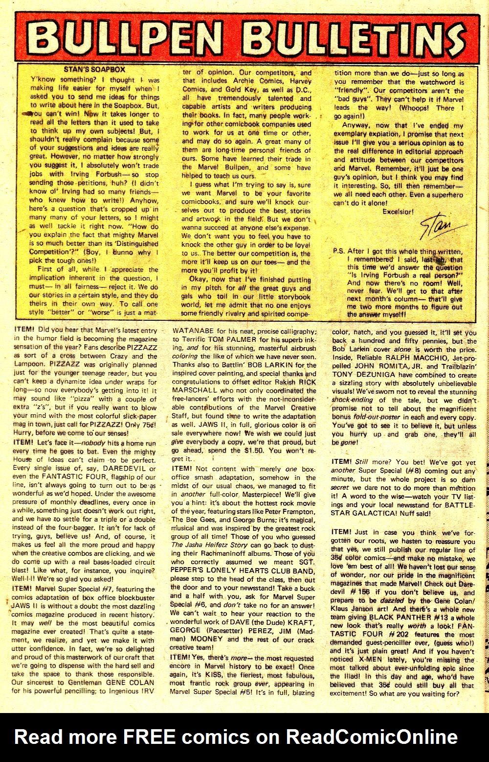 Read online Tarzan (1977) comic -  Issue # _Annual 2 - 11