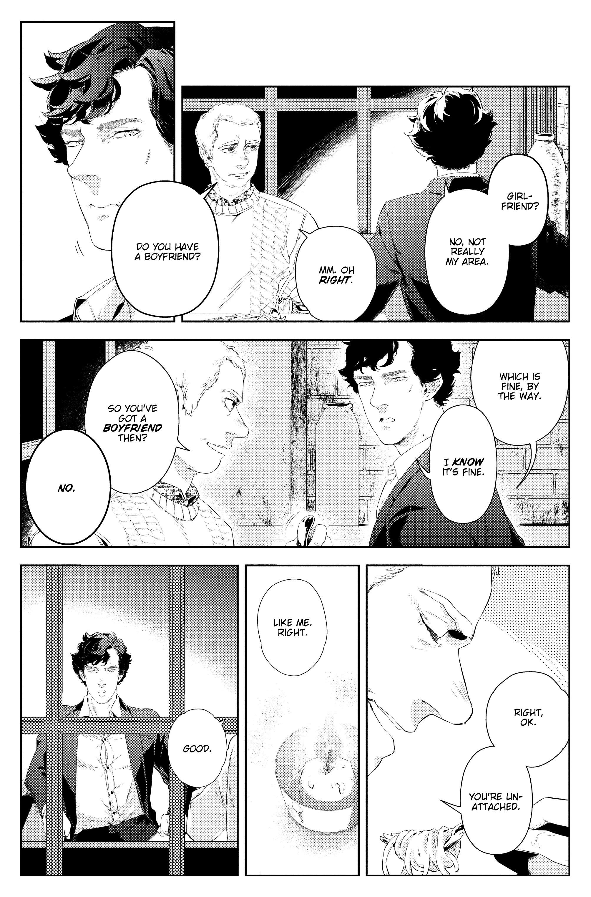 Read online Sherlock: A Study In Pink comic -  Issue #4 - 10