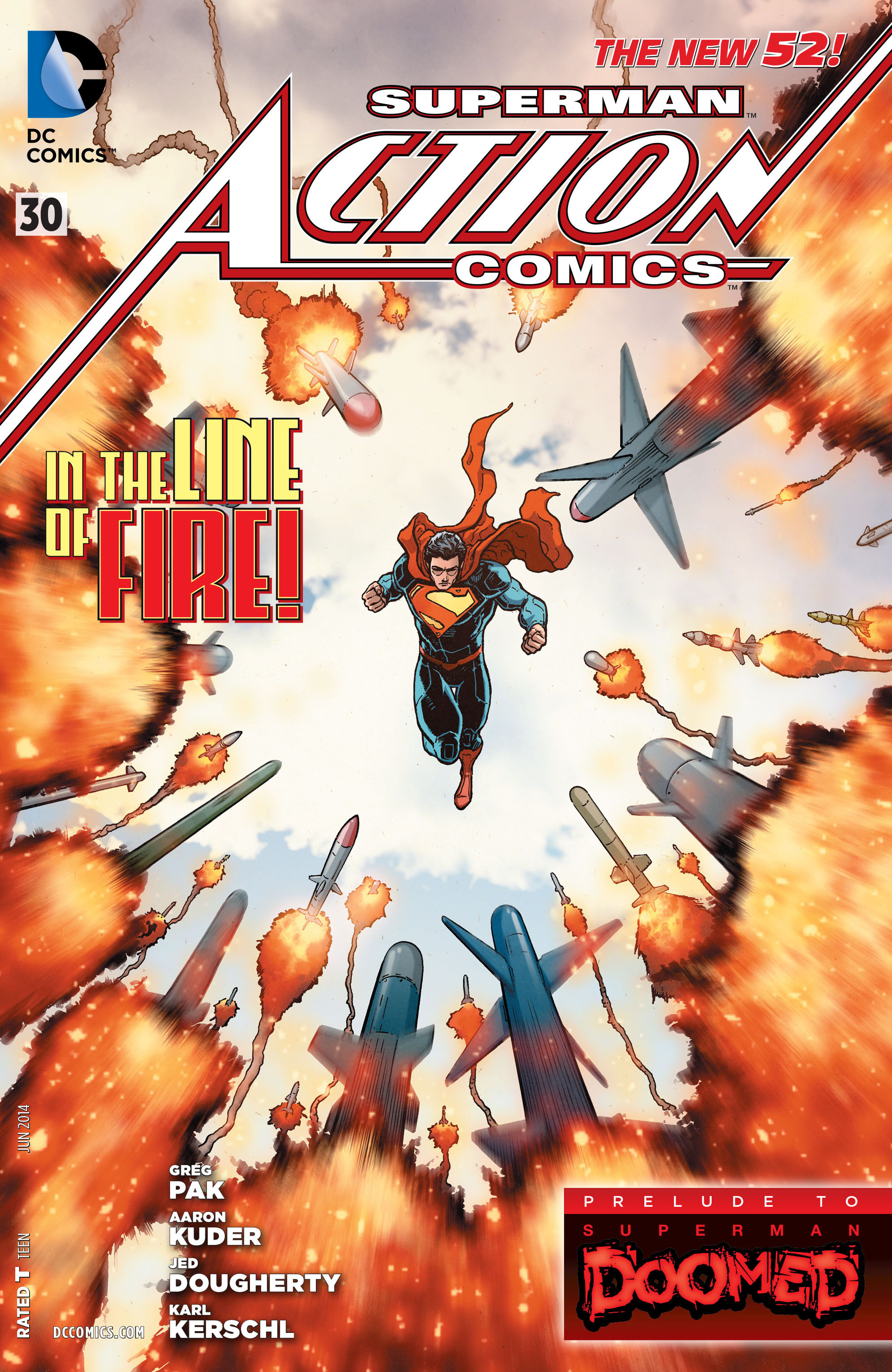 Read online Action Comics (2011) comic -  Issue #30 - 1