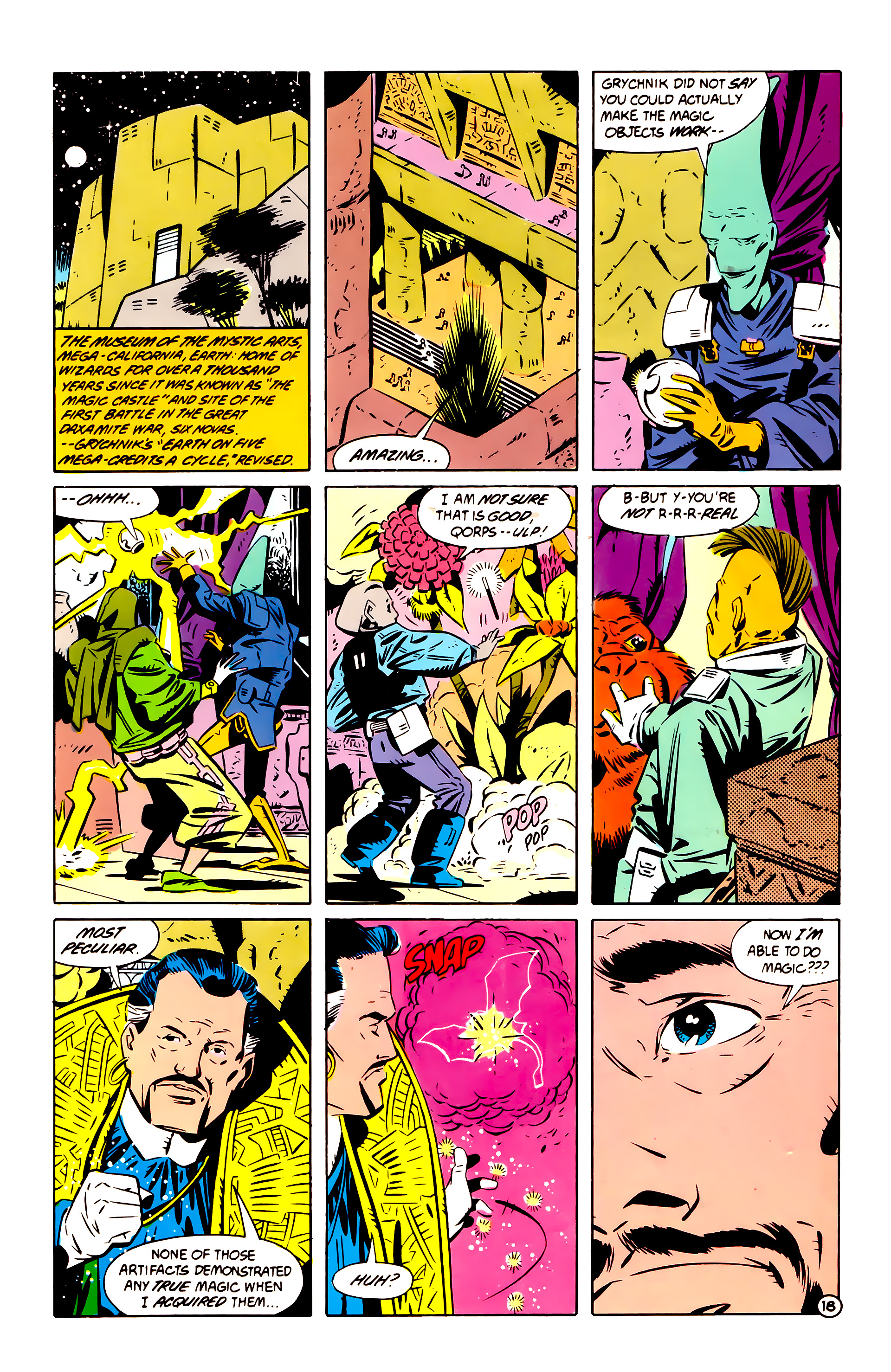 Legion of Super-Heroes (1984) 60 Page 18