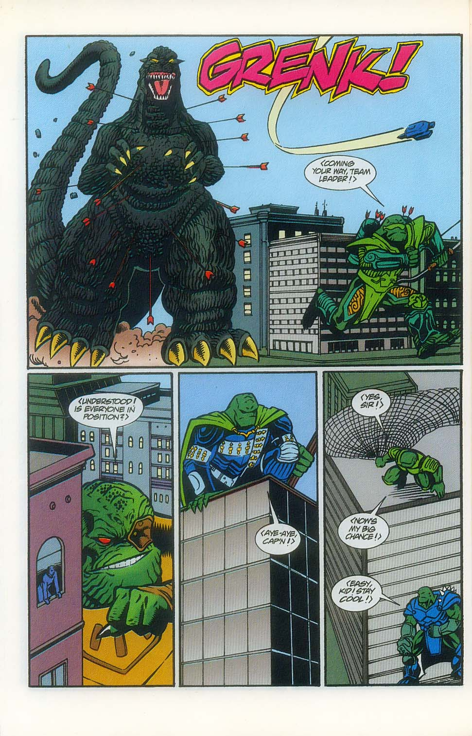 Godzilla (1995) Issue #7 #8 - English 13