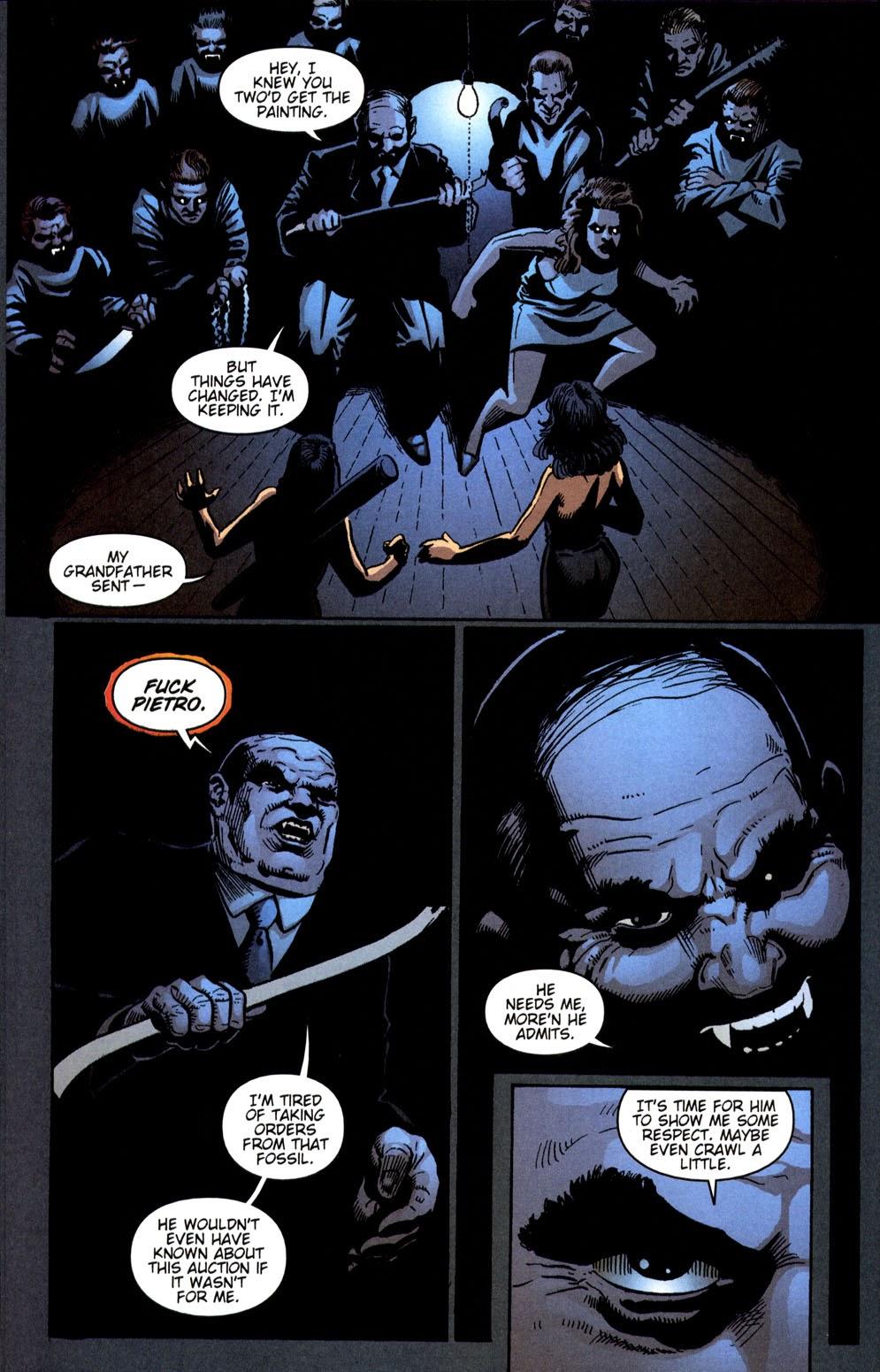 Read online Vampire the Masquerade comic -  Issue # Giovanni - 41