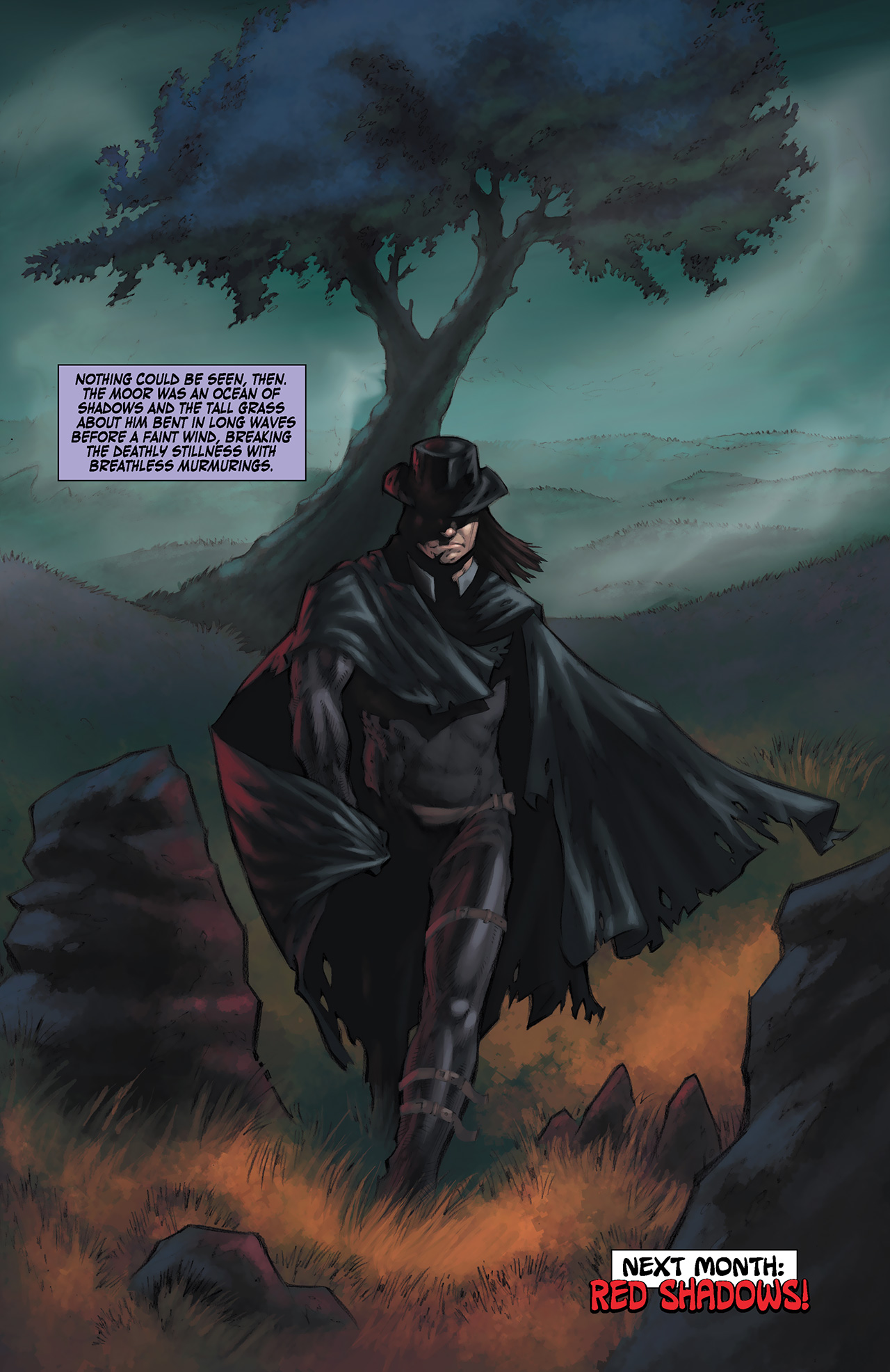 Read online Solomon Kane: Red Shadows comic -  Issue #1 - 25