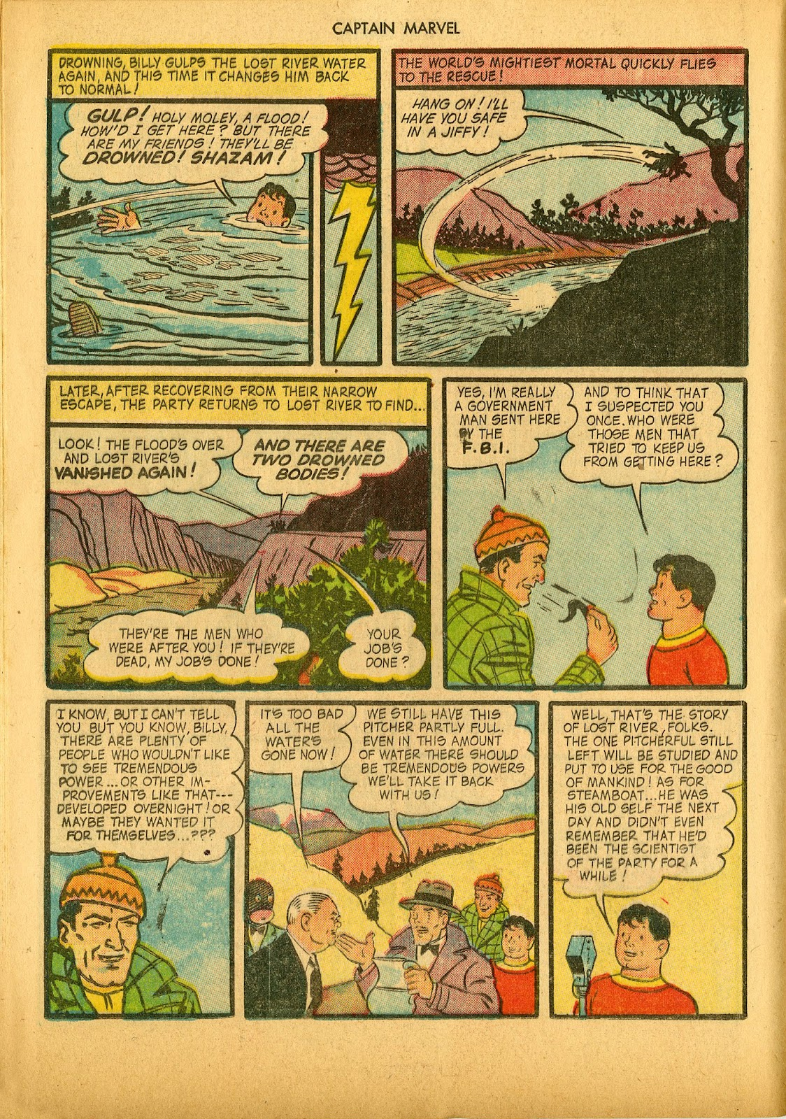 Captain Marvel Adventures issue 36 - Page 24