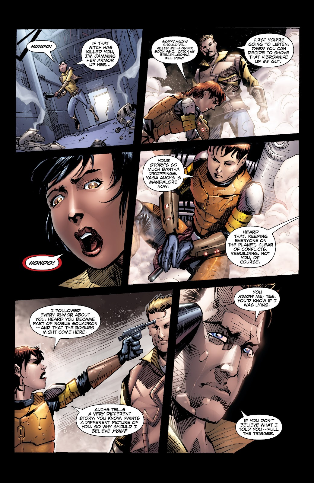 Read online Star Wars Legends: Legacy - Epic Collection comic -  Issue # TPB 2 (Part 5) - 33