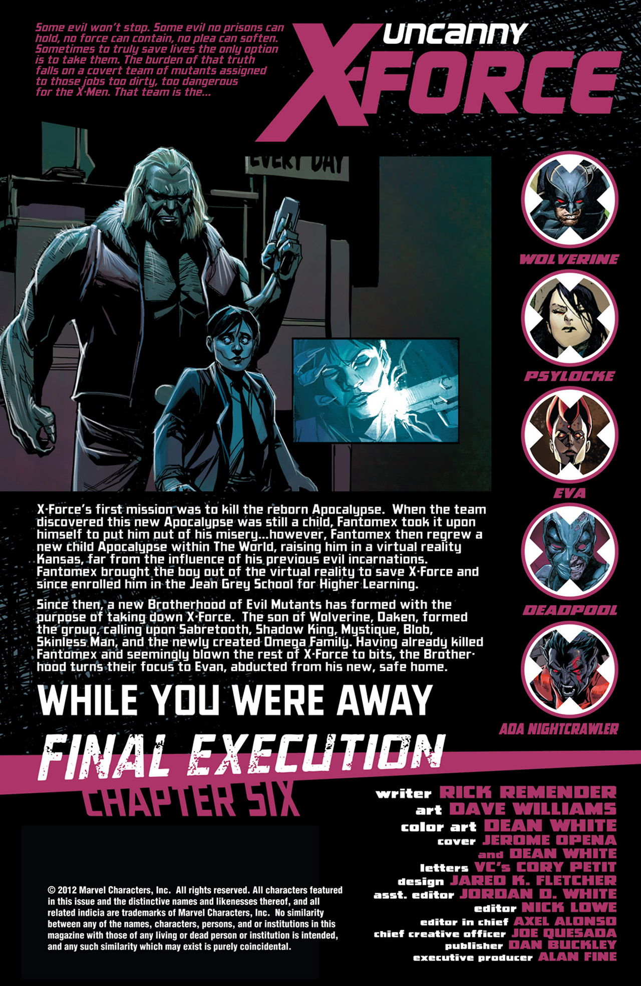 Uncanny X-Force (2010) #30 #32 - English 2