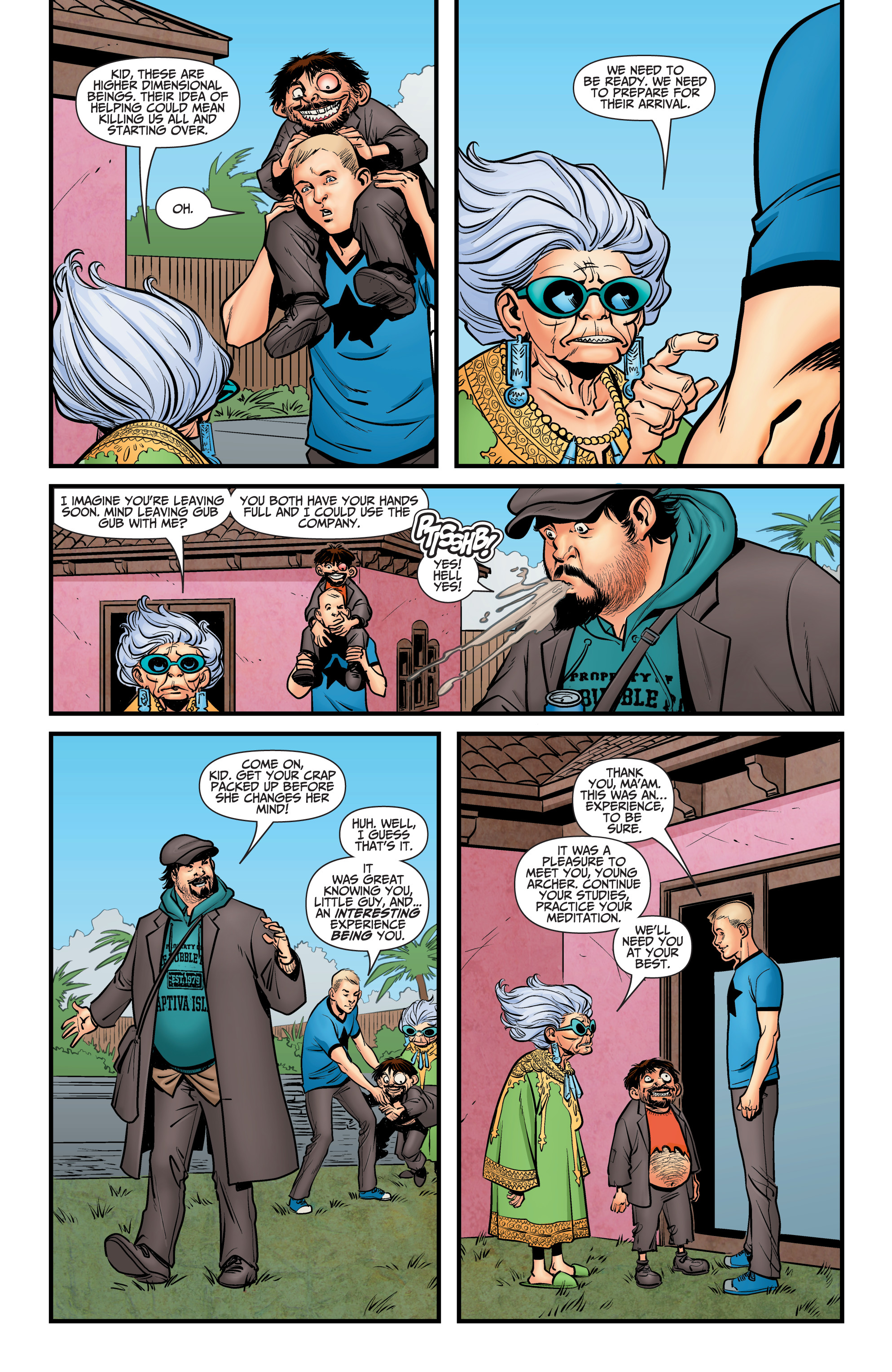 Read online A&A: The Adventures of Archer & Armstrong comic -  Issue #12 - 20