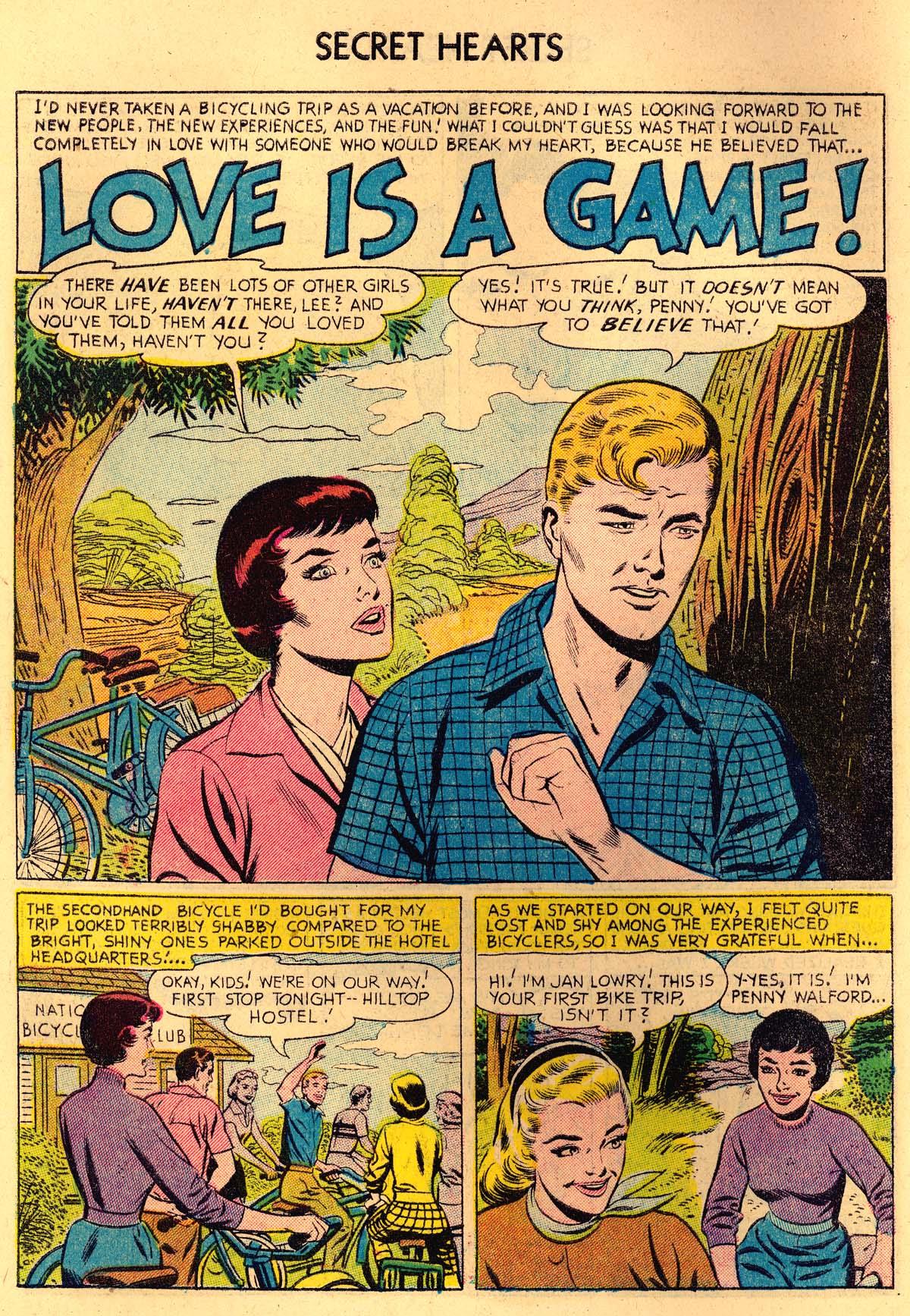 Read online Secret Hearts comic -  Issue #35 - 10