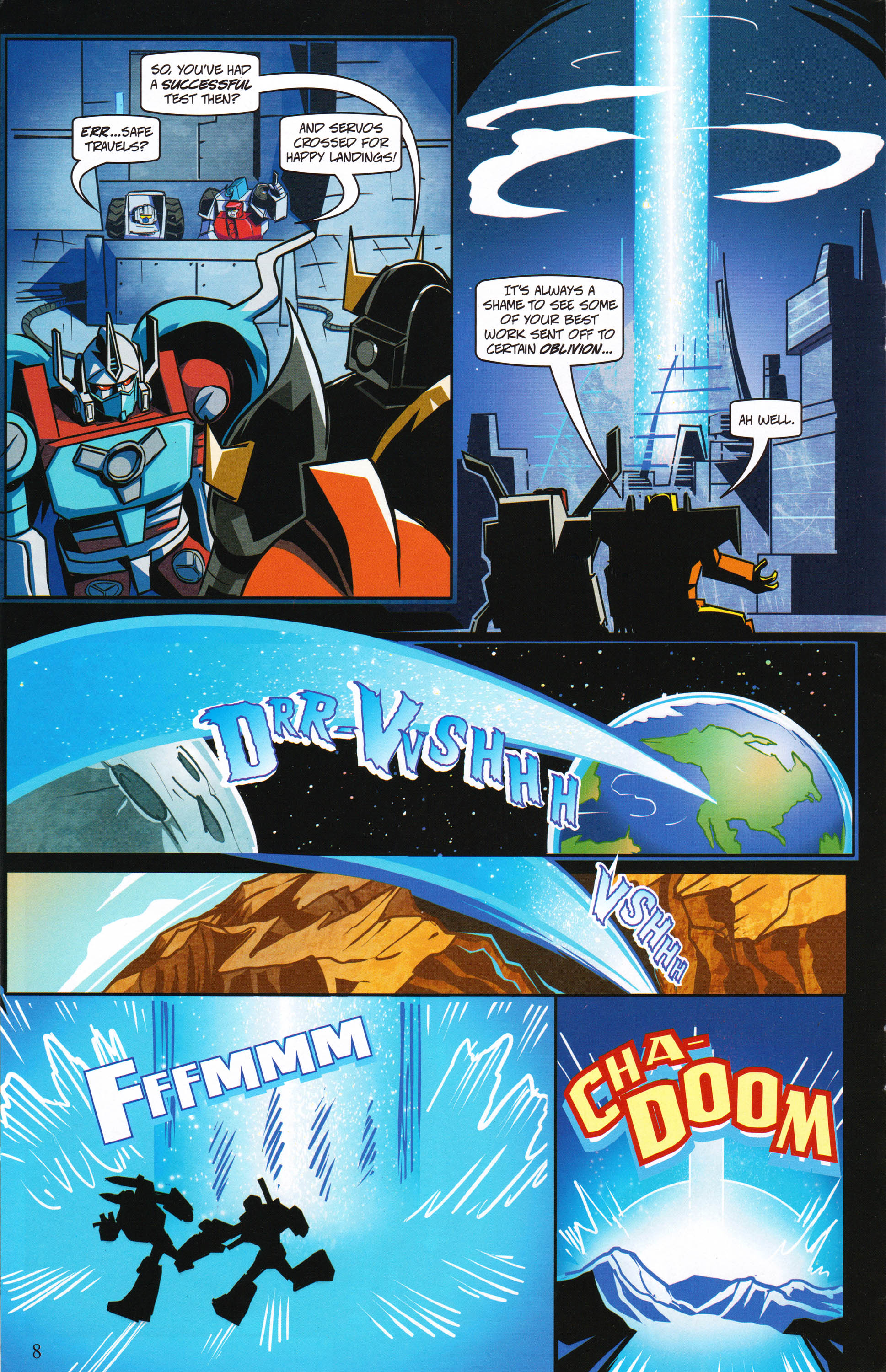 Read online Transformers: Collectors' Club comic -  Issue #62 - 8