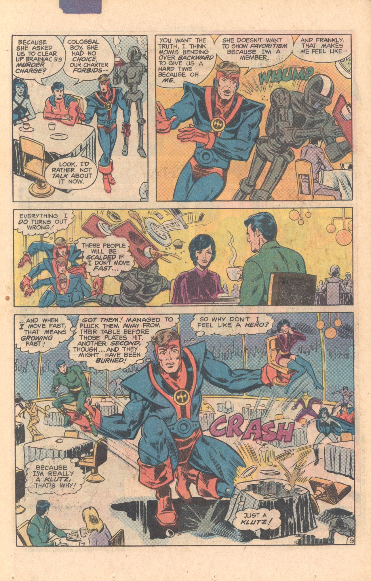 Legion of Super-Heroes (1980) 275 Page 9