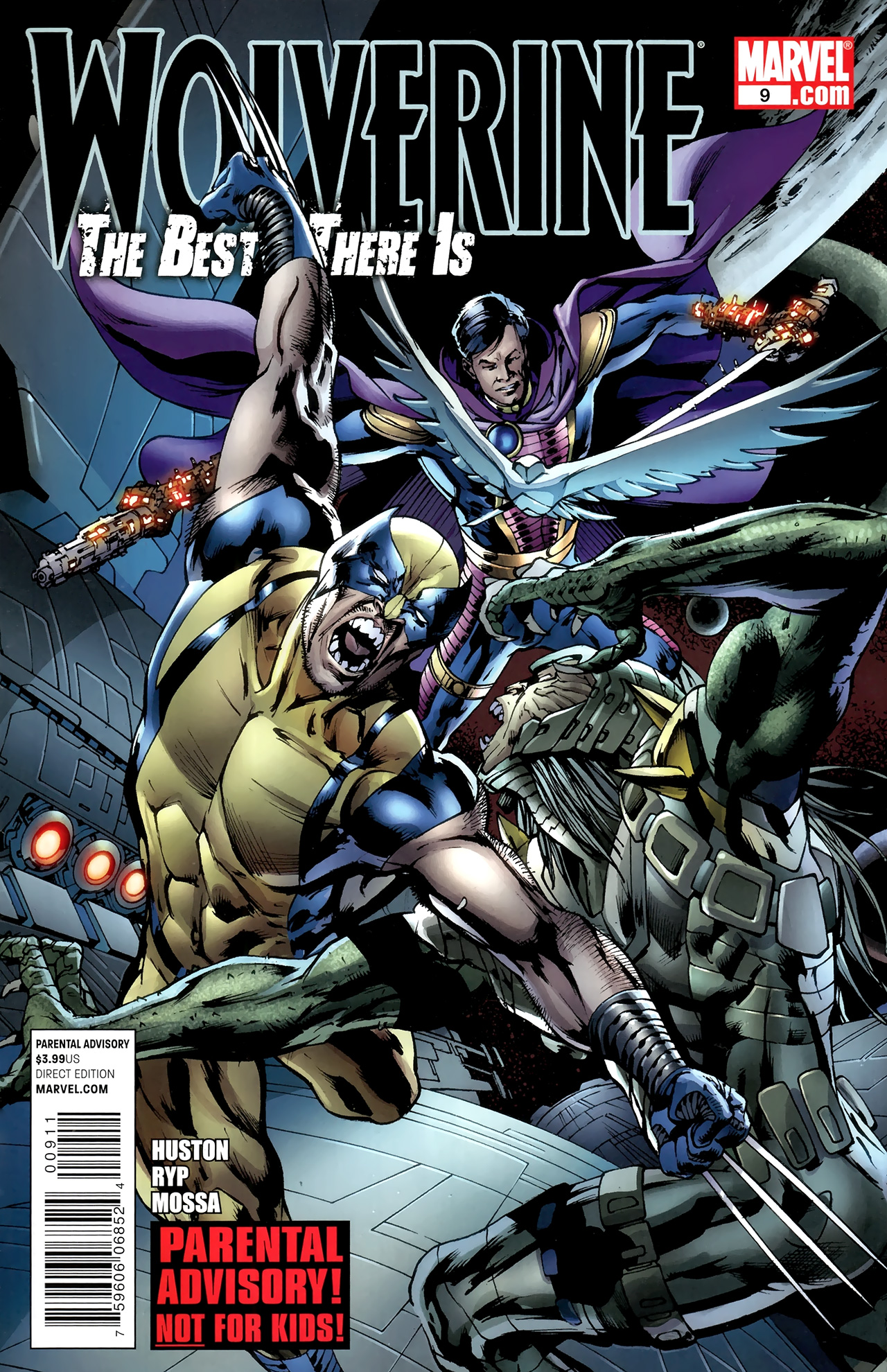 Read online Wolverine: The Best There Is comic -  Issue #9 - 1