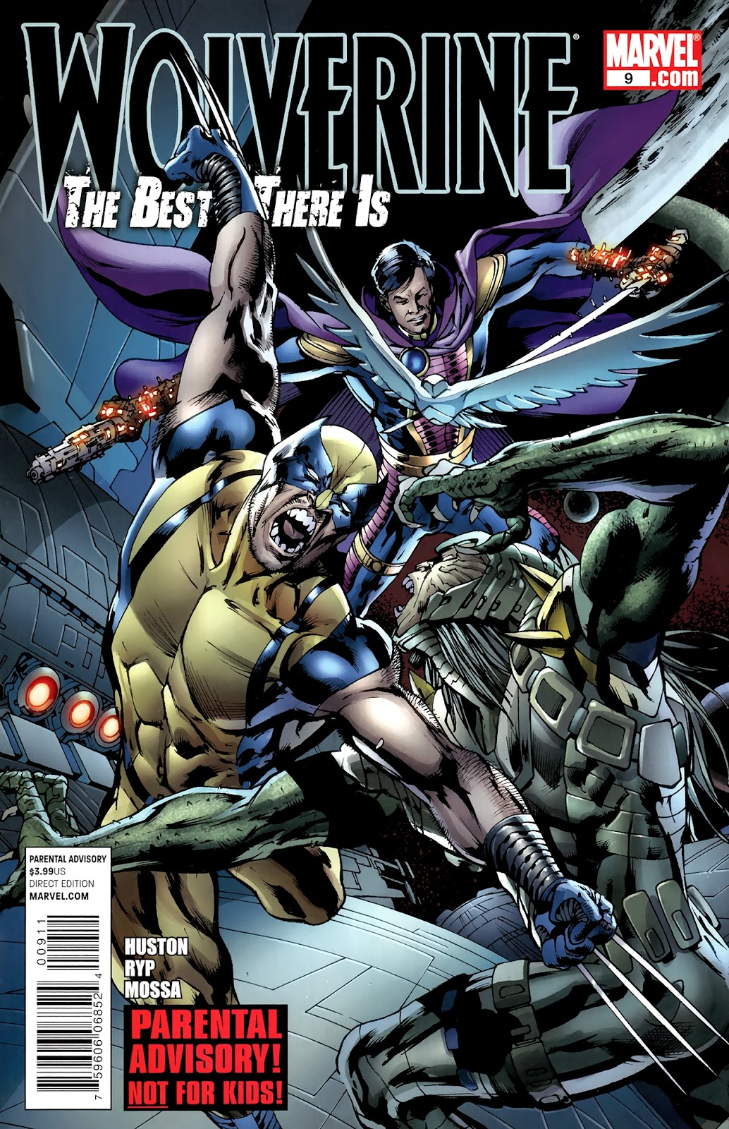 Wolverine: The Best There Is 9 Page 1
