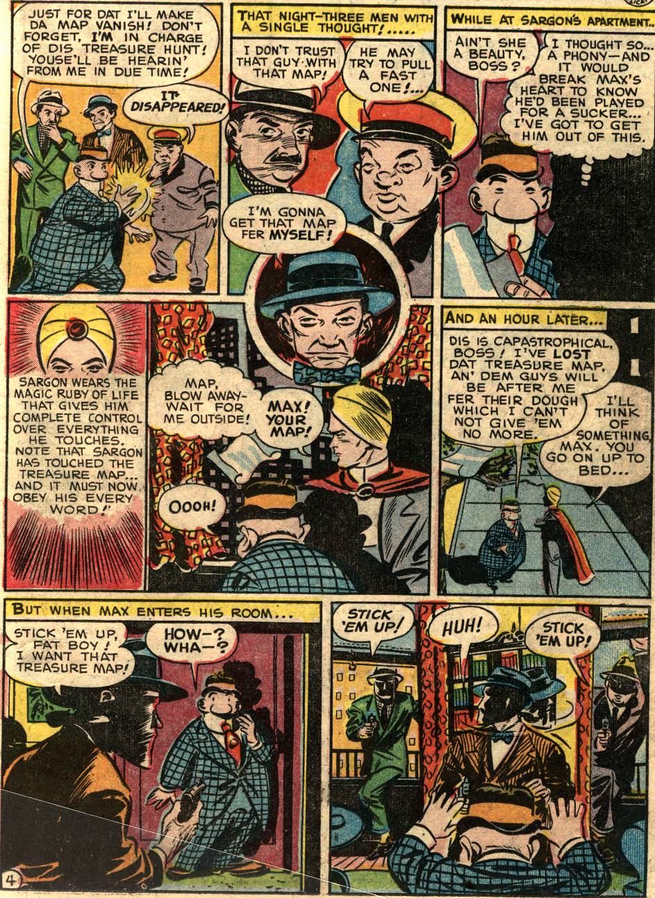Read online Sensation (Mystery) Comics comic -  Issue #58 - 27