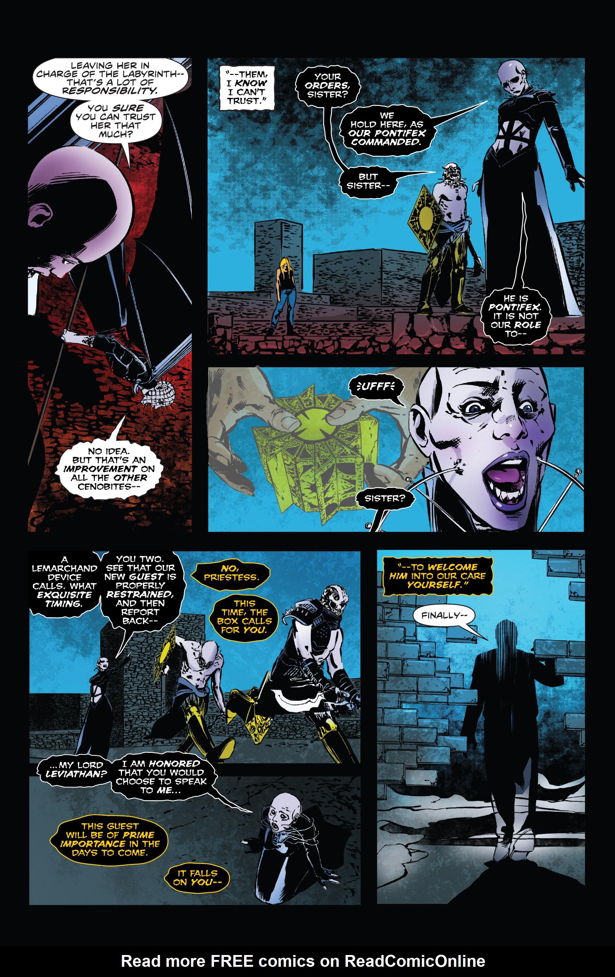 Read online Clive Barker's Hellraiser: The Dark Watch comic -  Issue # TPB 3 - 65