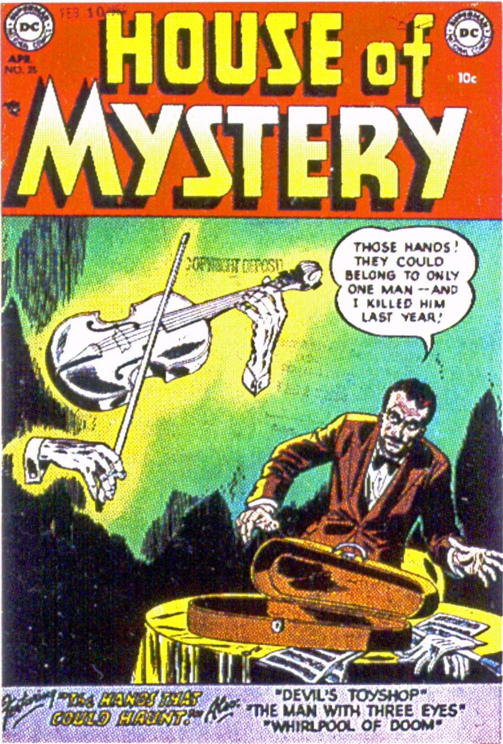House of Mystery (1951) issue 25 - Page 1