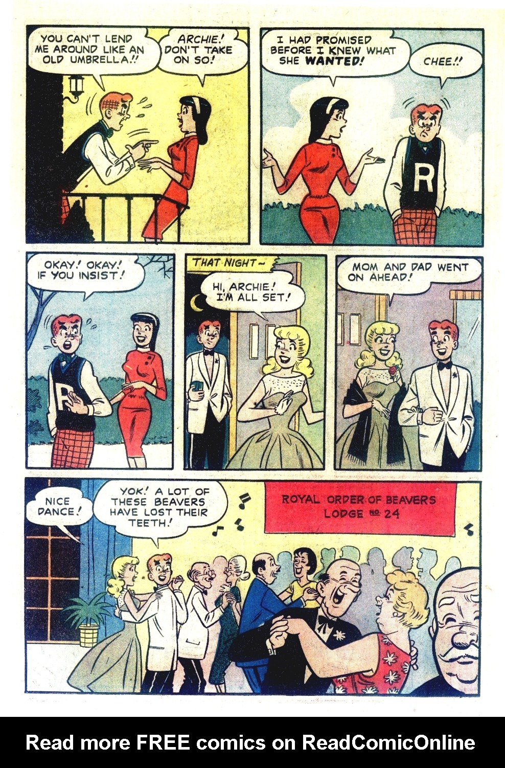 Read online Archie's Girls Betty and Veronica comic -  Issue #55 - 6