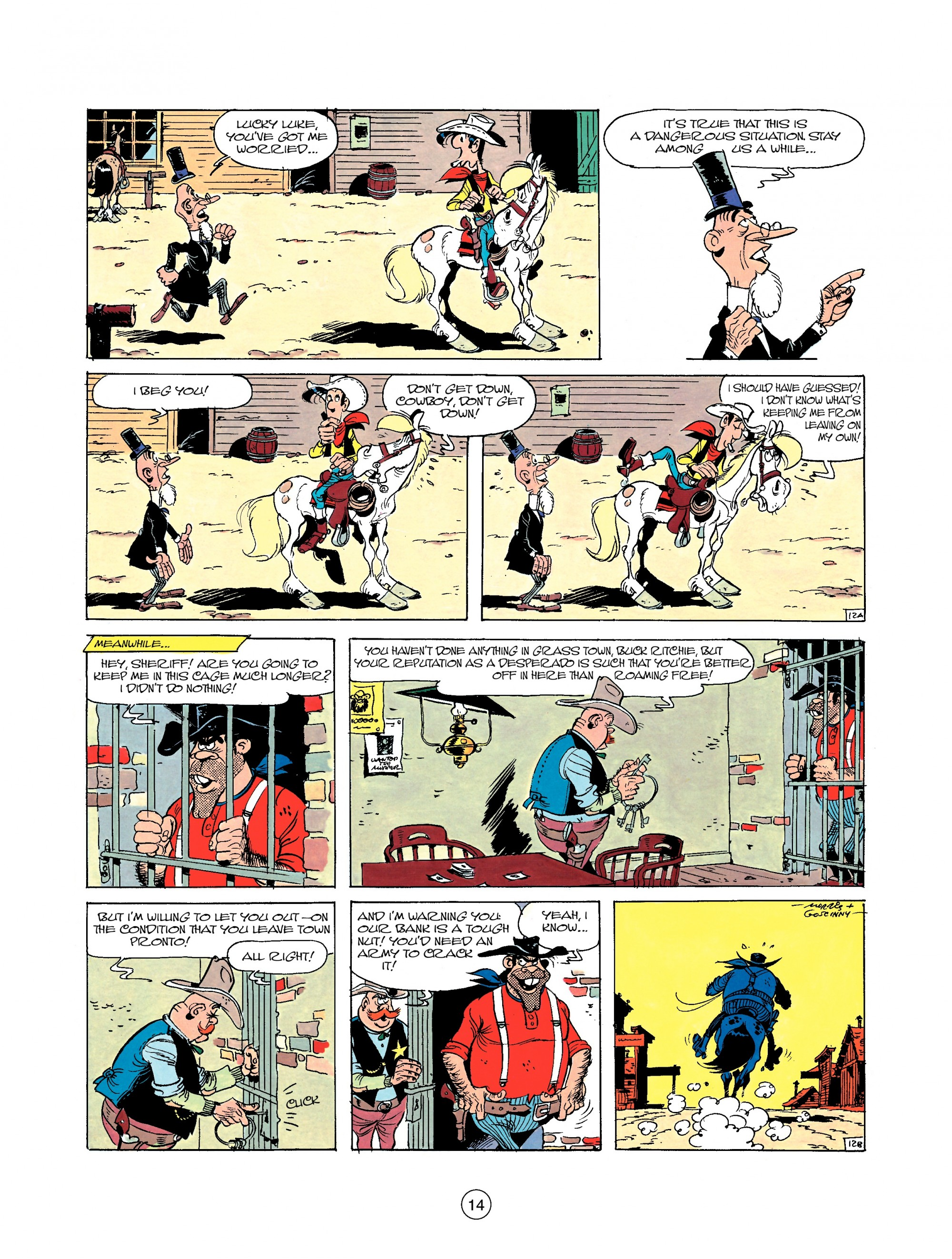 Read online A Lucky Luke Adventure comic -  Issue #22 - 14