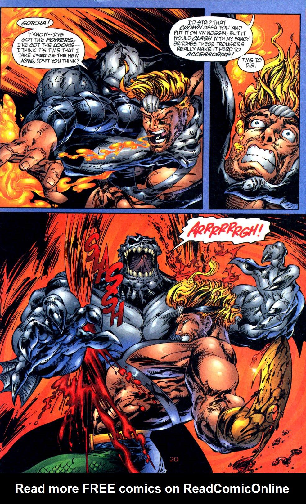Read online Aquaman (1994) comic -  Issue #57 - 21