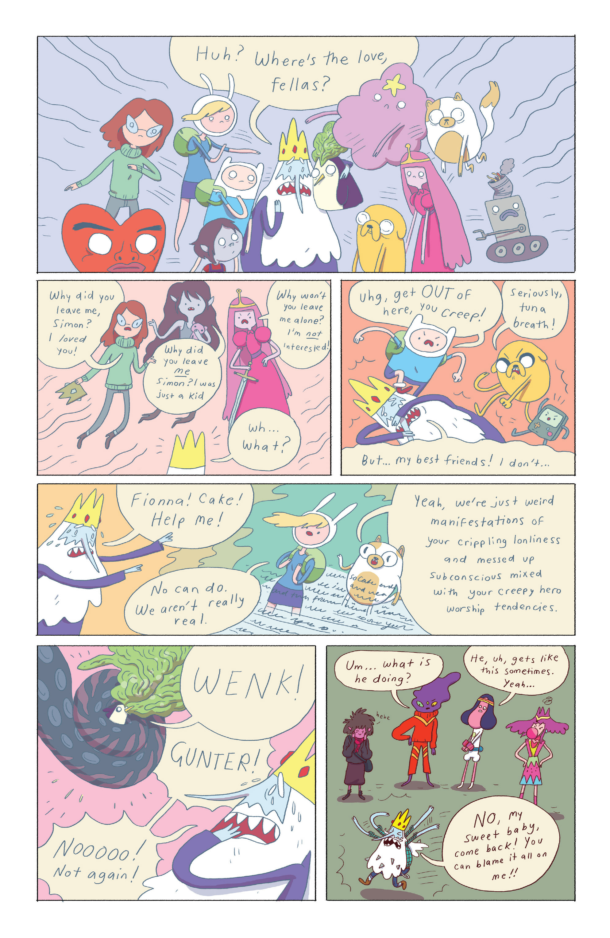 Read online Adventure Time: Ice King comic -  Issue #4 - 14