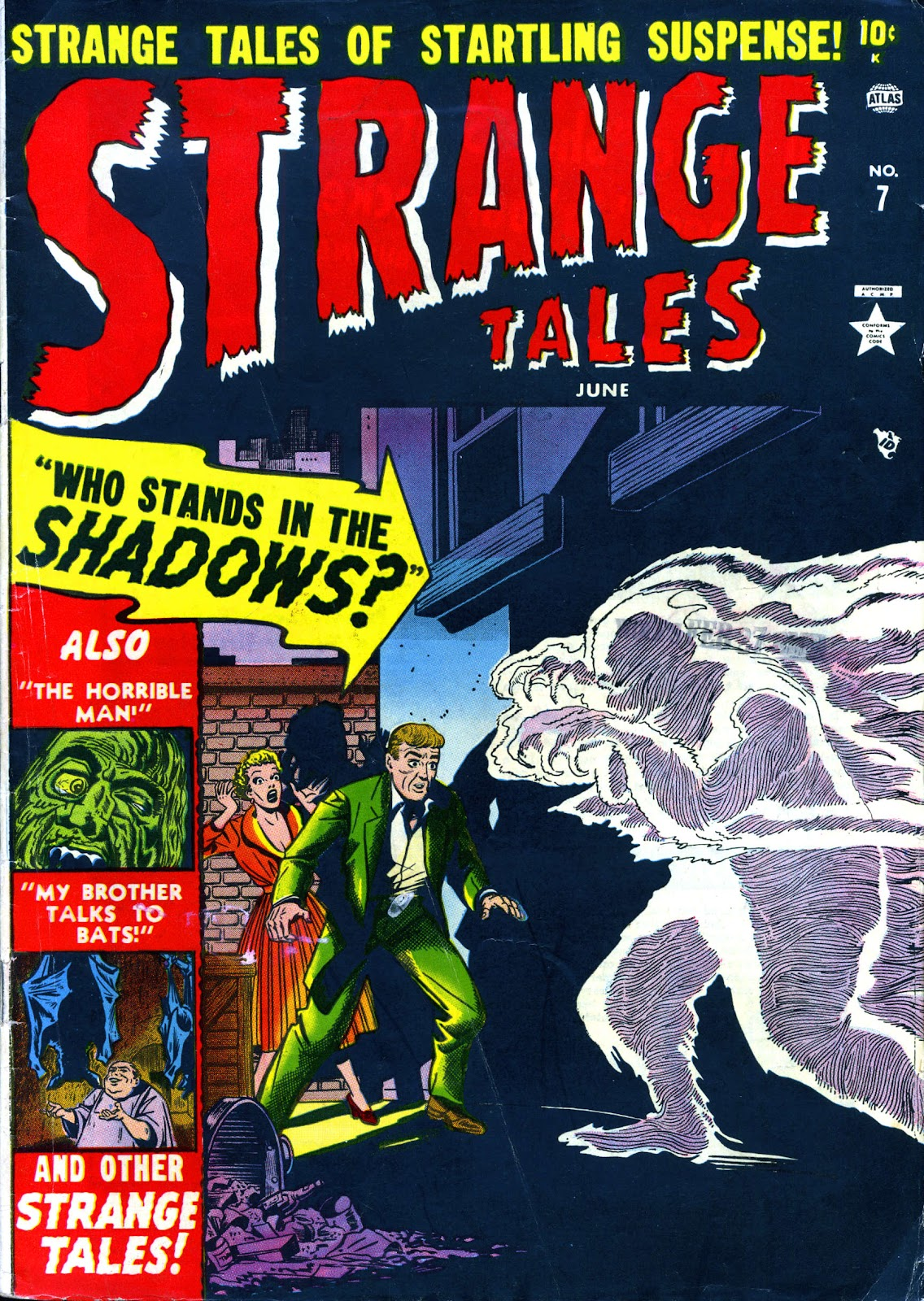 Strange Tales (1951) issue 7 - Page 1