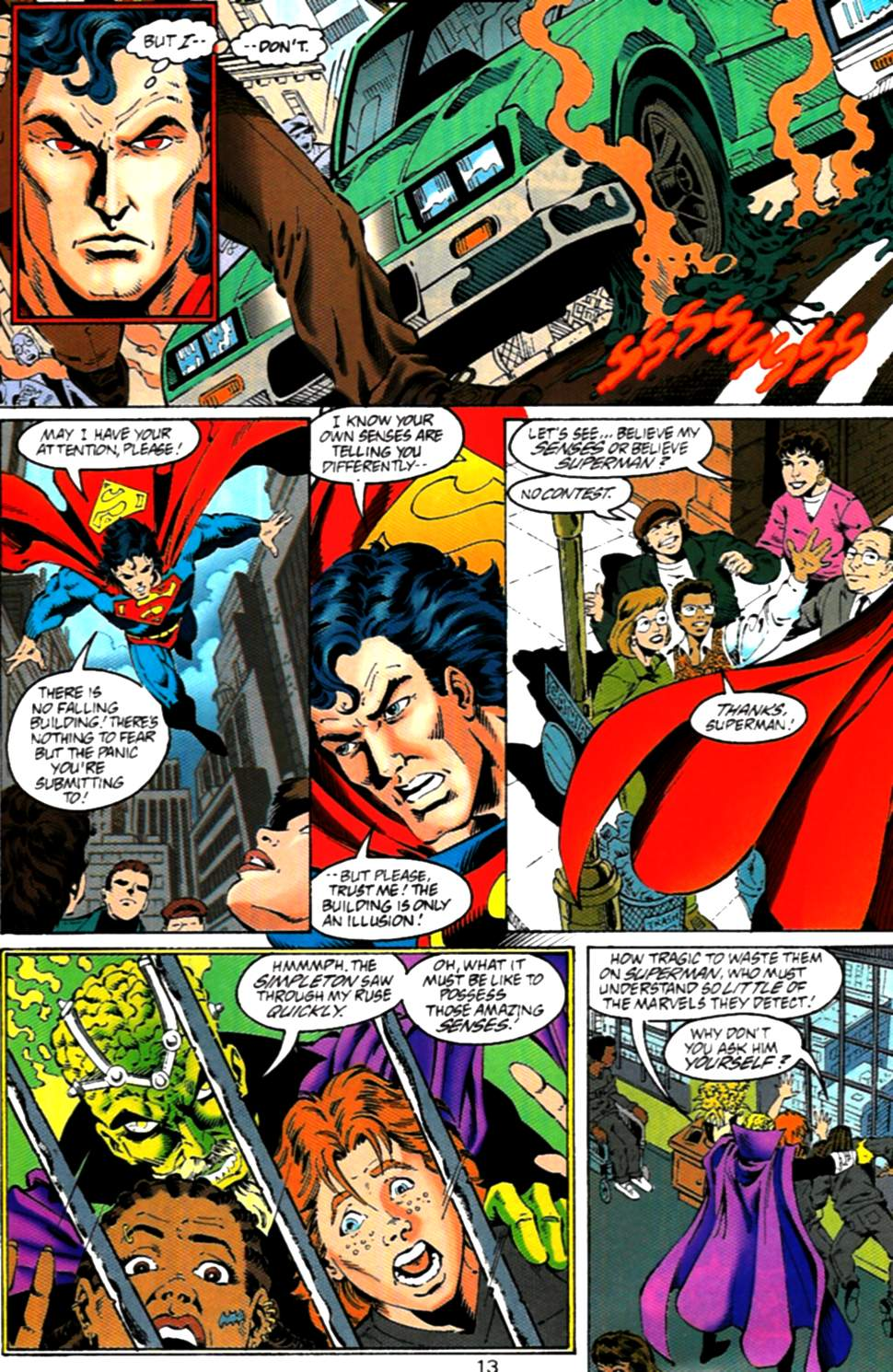 Read online Adventures of Superman (1987) comic -  Issue #536 - 14