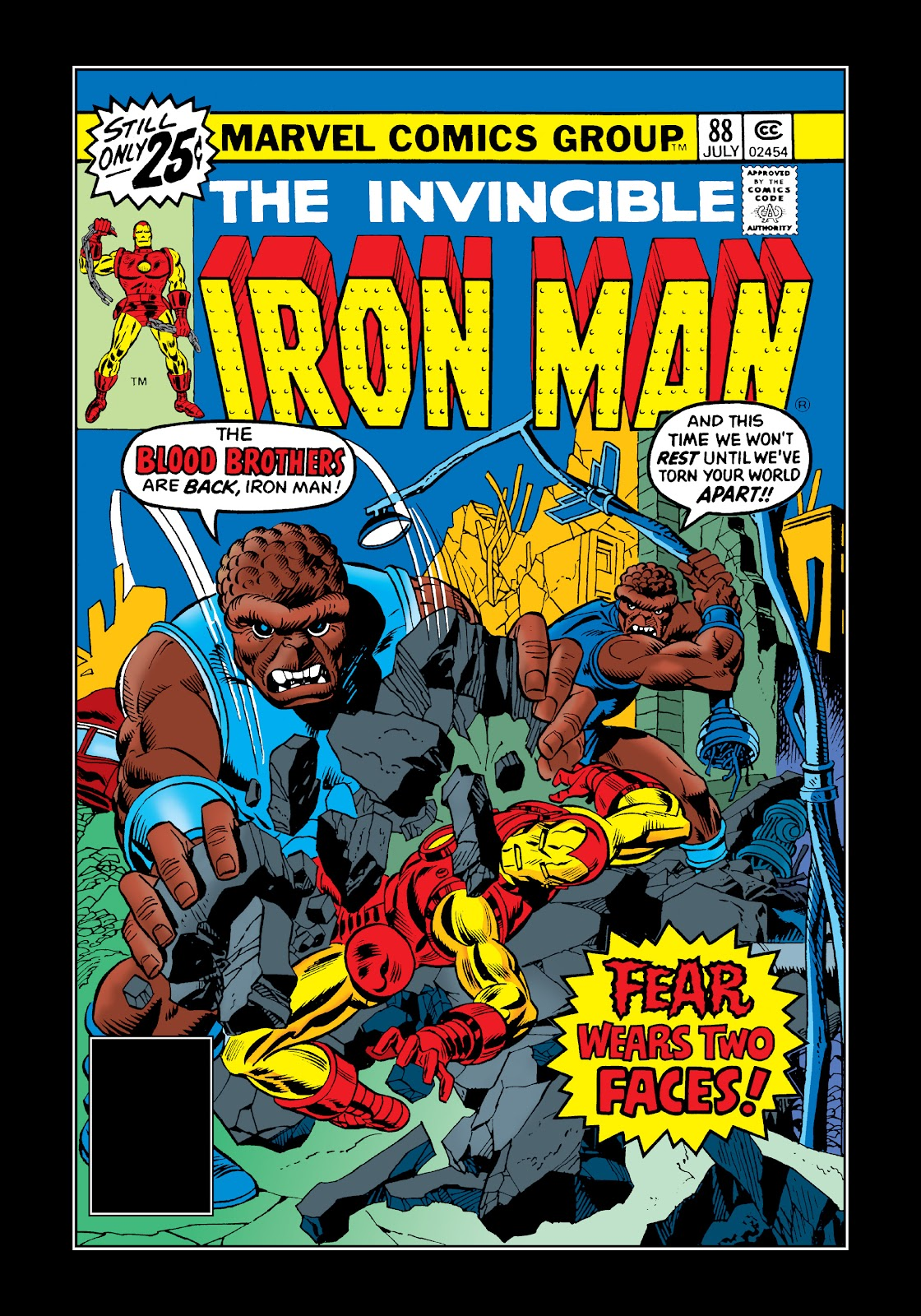 Read online Marvel Masterworks: The Invincible Iron Man comic -  Issue # TPB 11 (Part 2) - 57