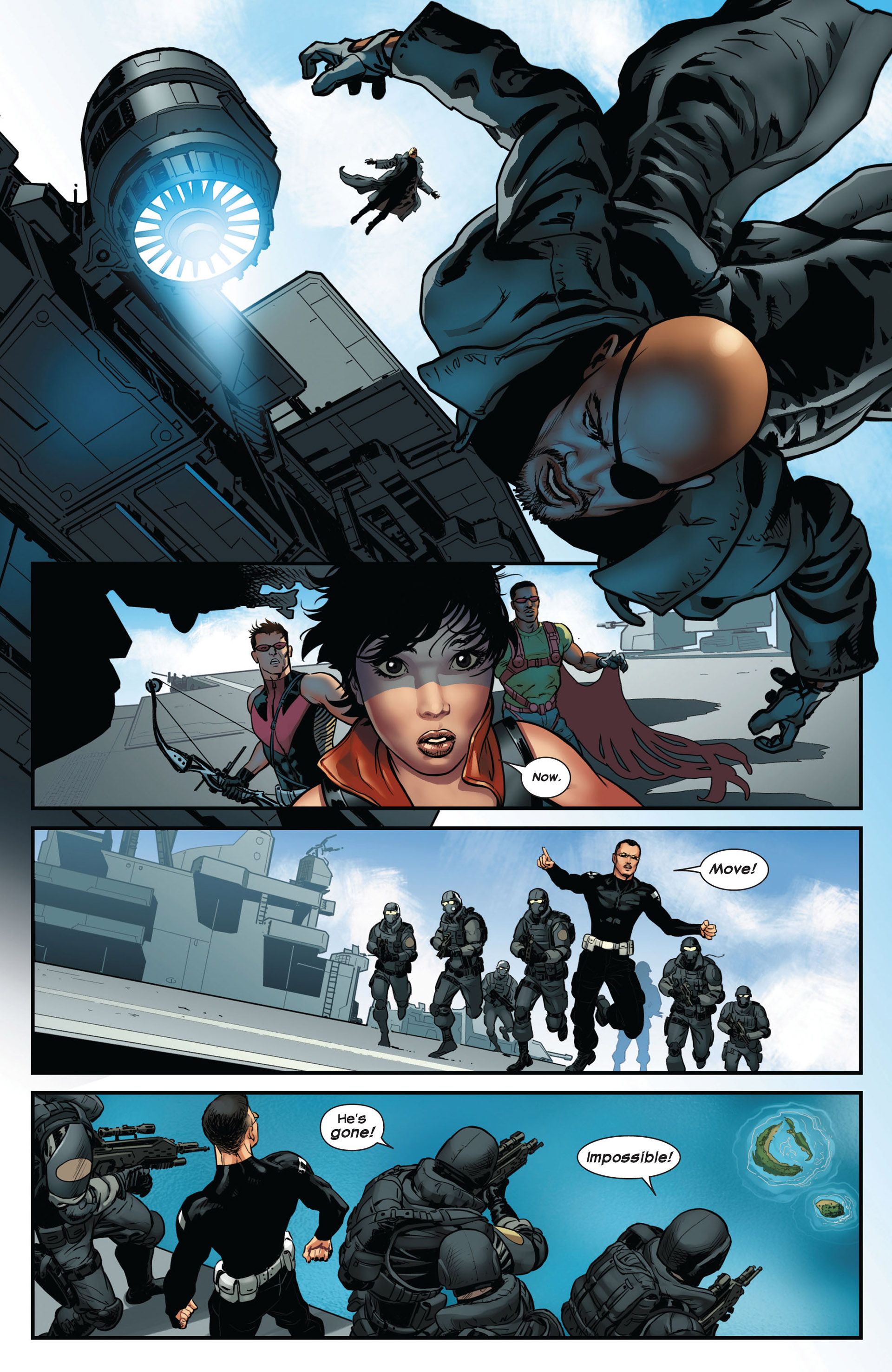 Read online Ultimate Comics Ultimates comic -  Issue #10 - 12