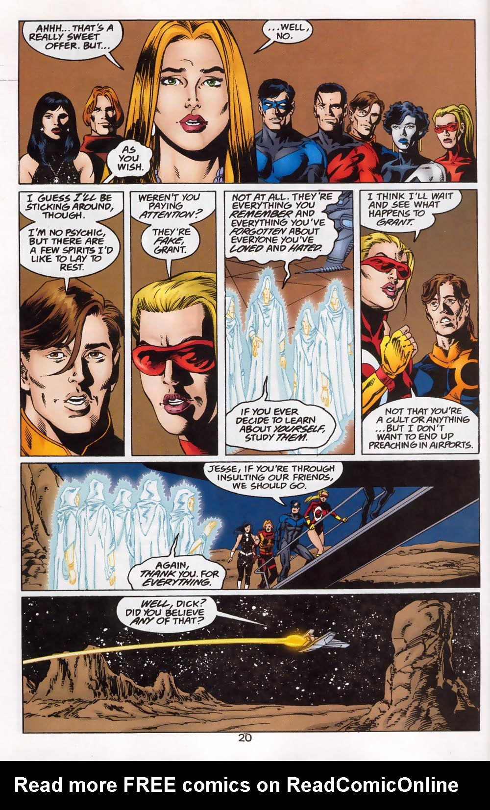 Read online The Titans (1999) comic -  Issue #46 - 21