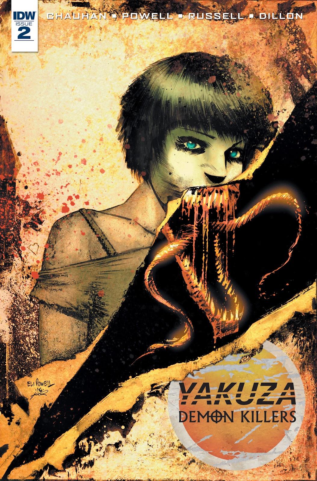 Yakuza Demon Killers 2 Page 1