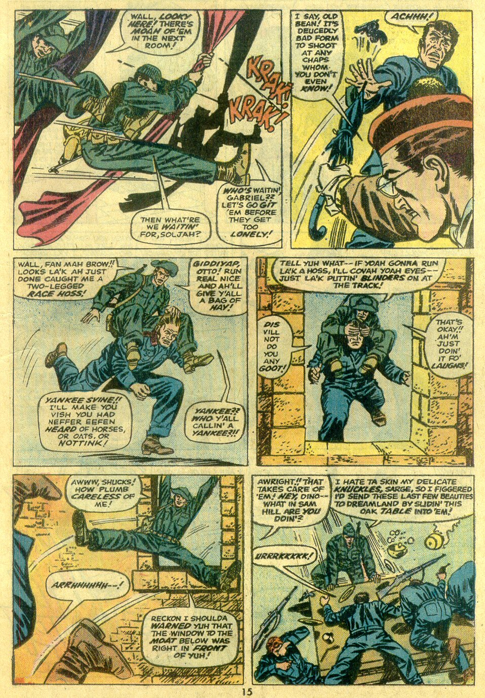 Read online Sgt. Fury comic -  Issue #122 - 17